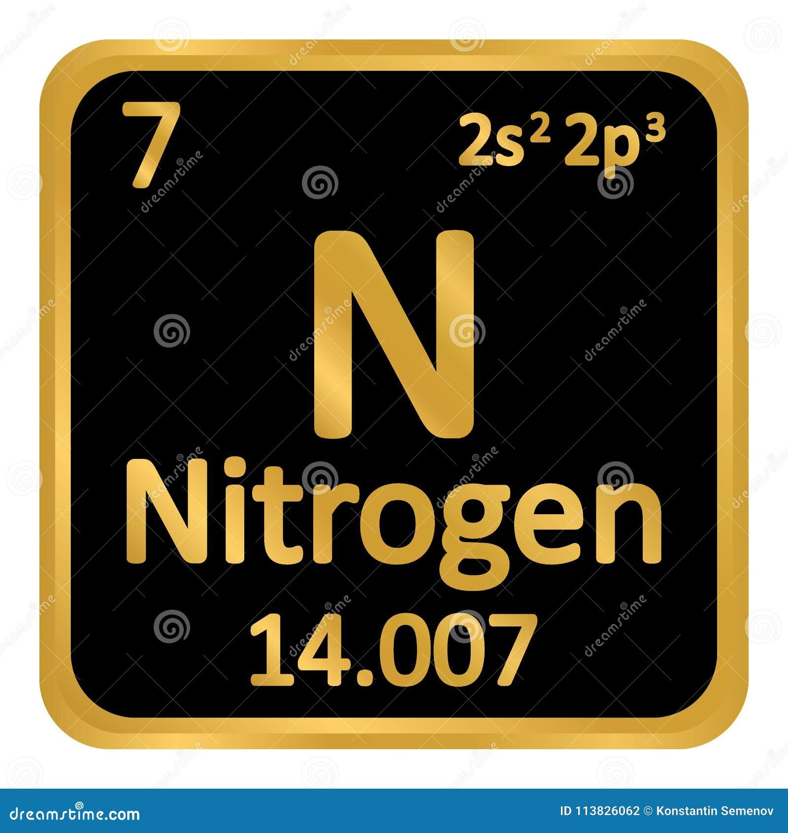 Icono del nitrgeno del elemento de tabla peridica stock de download icono del nitrgeno del elemento de tabla peridica stock de ilustracin ilustracin de mendeleev urtaz Choice Image