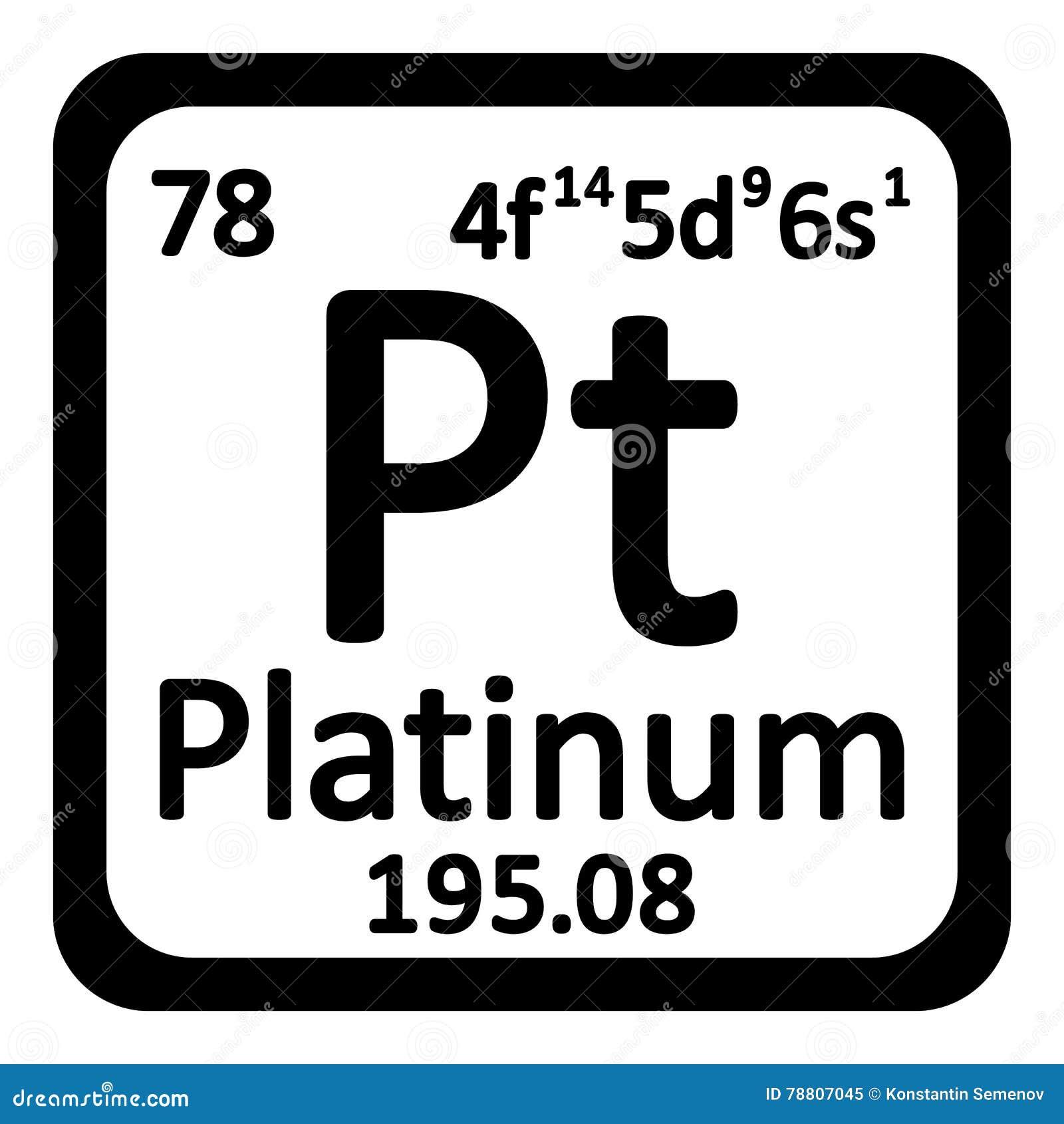 Icono del platino del elemento de tabla peridica stock de download icono del platino del elemento de tabla peridica stock de ilustracin ilustracin de fondo urtaz Choice Image