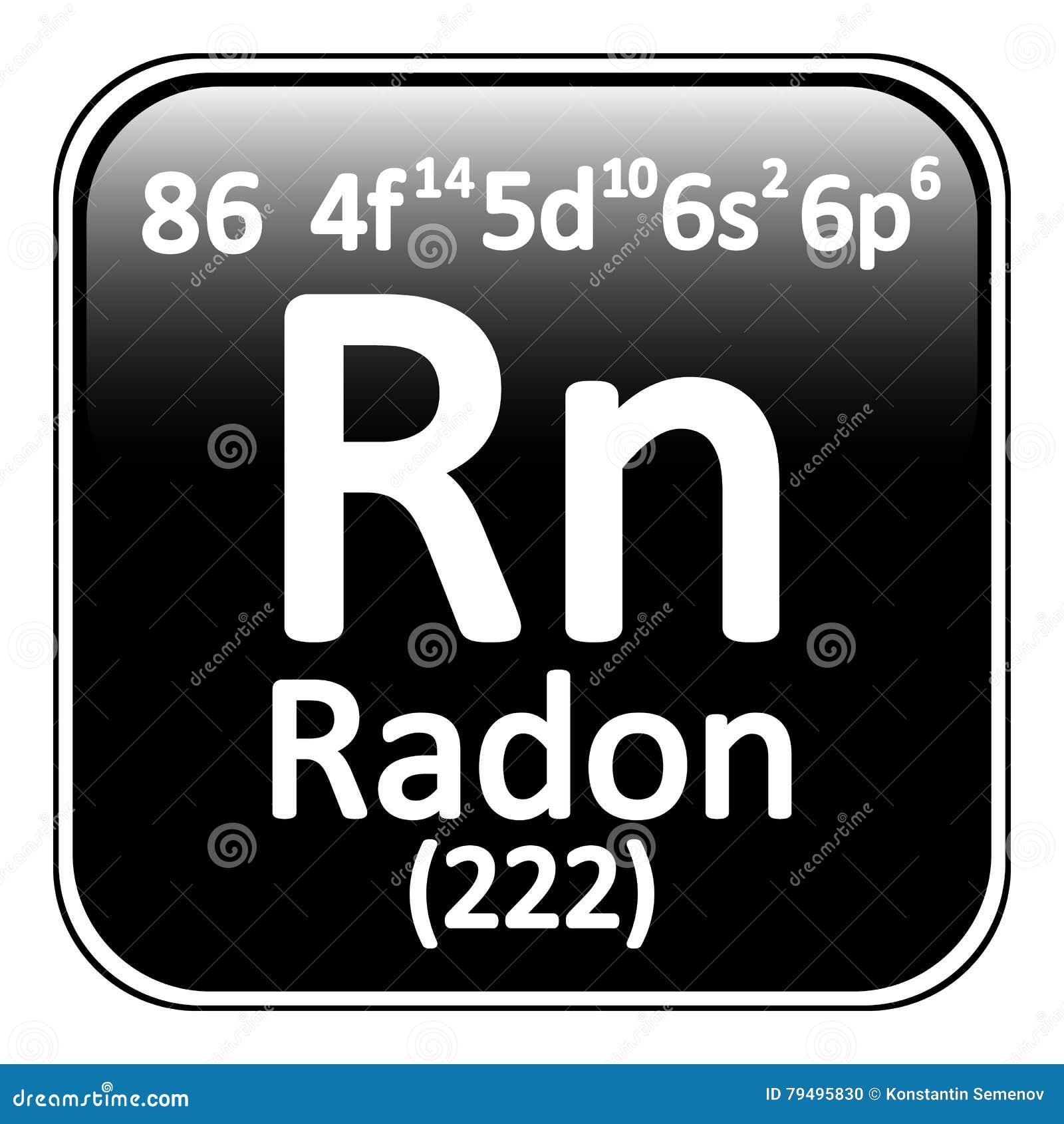 Icono del radn del elemento de tabla peridica stock de icono del radn del elemento de tabla peridica urtaz Images