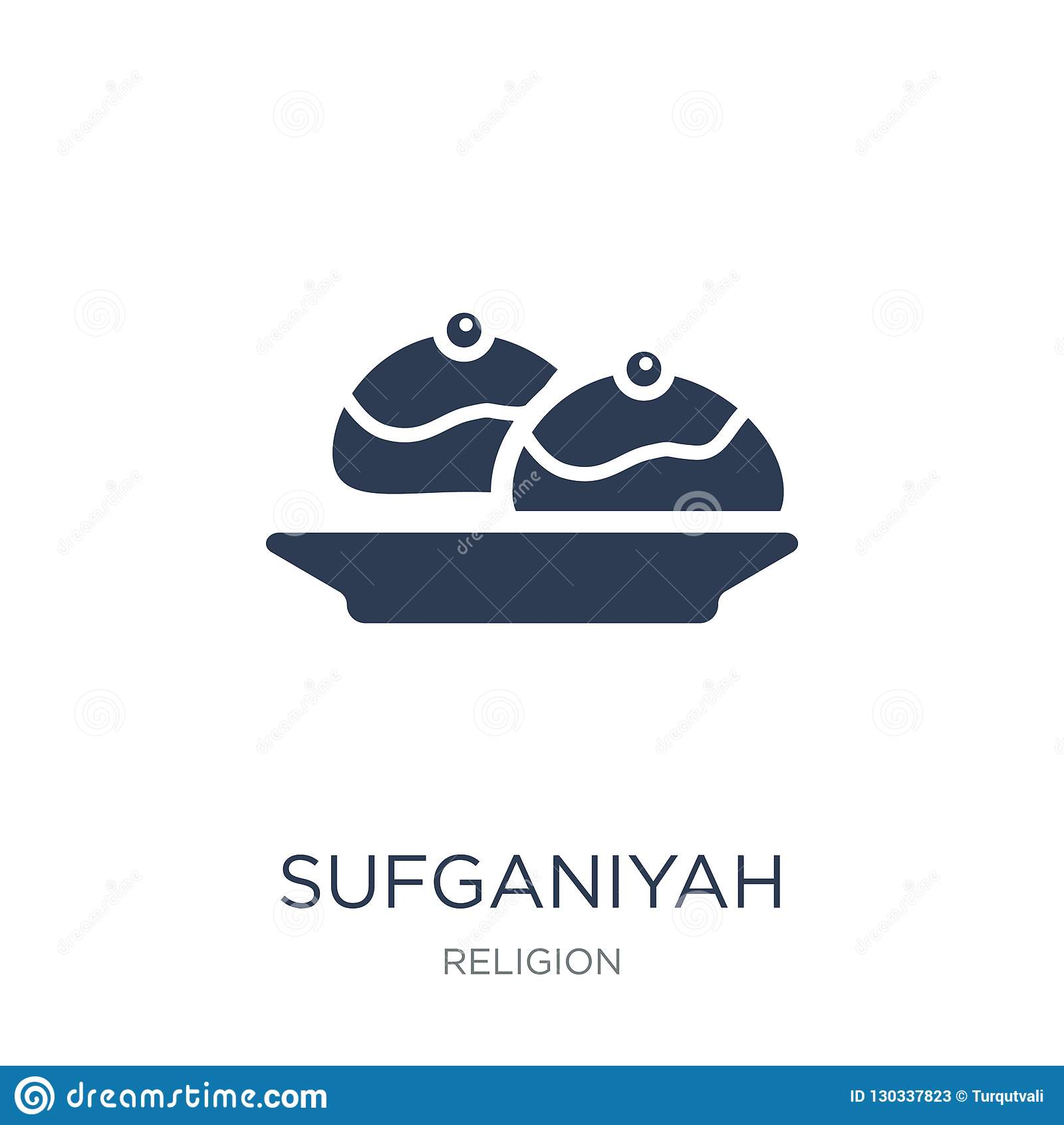 Icono del sufganiyah
