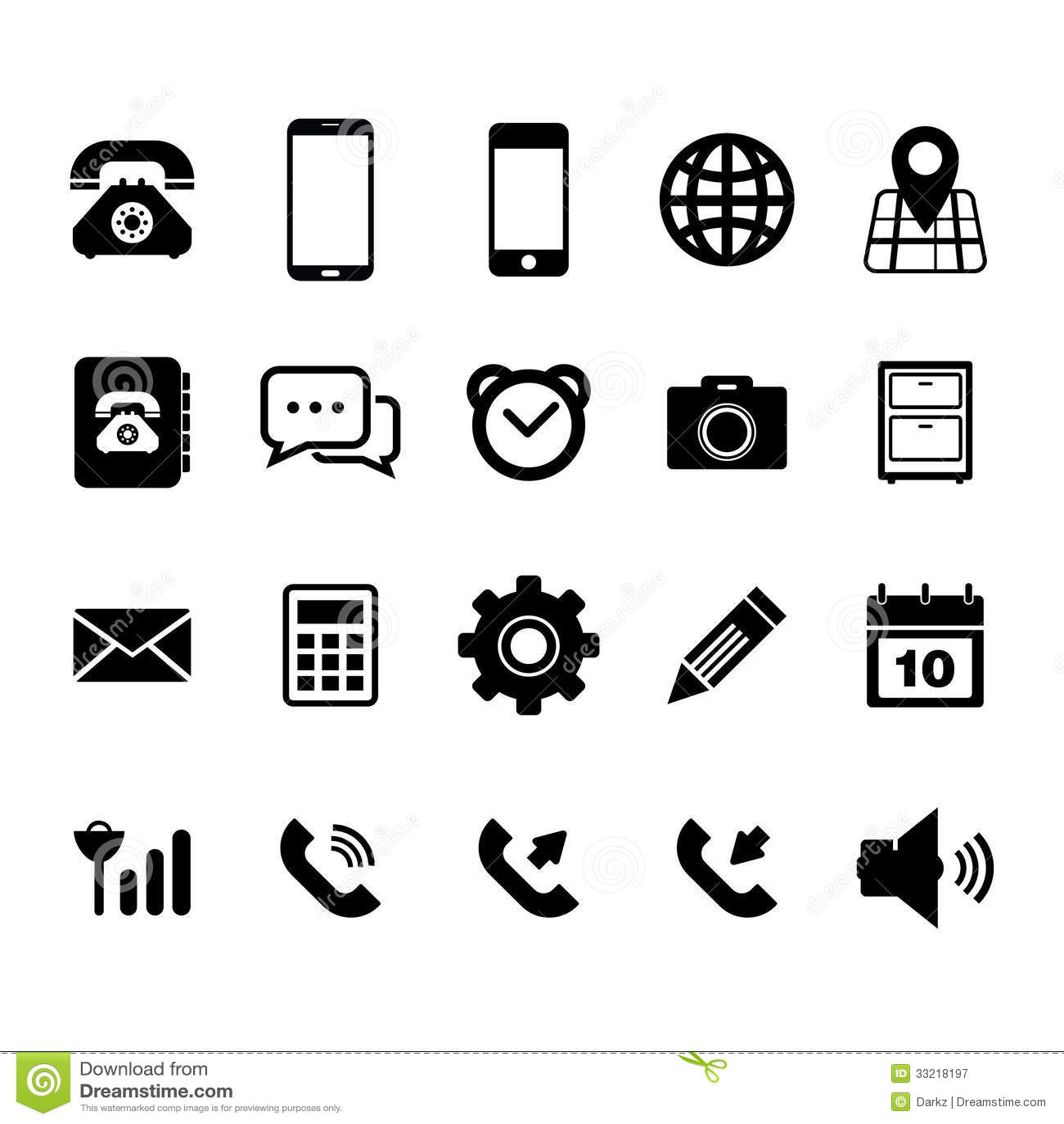 Icono del teléfono móvil