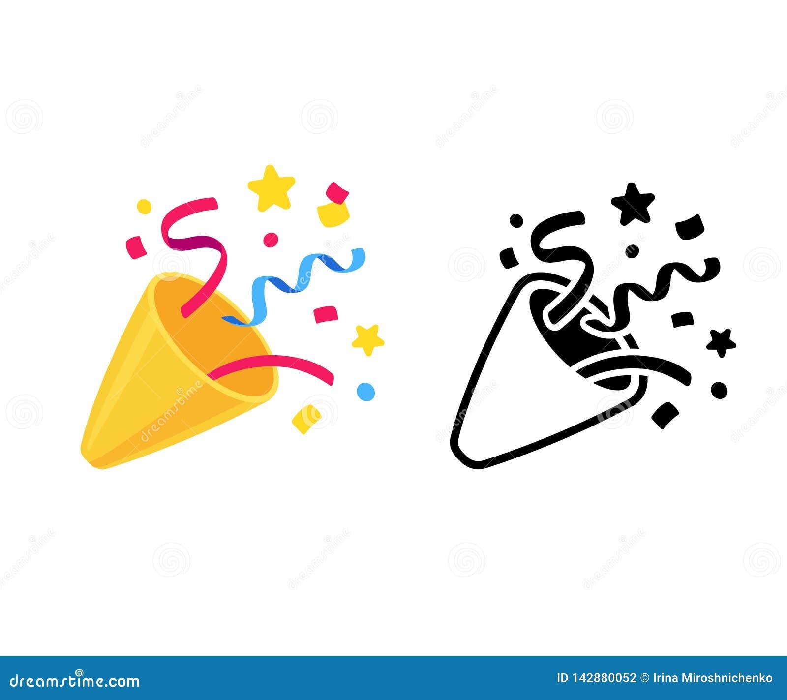 Icono del tostador de palomitas de maíz del partido