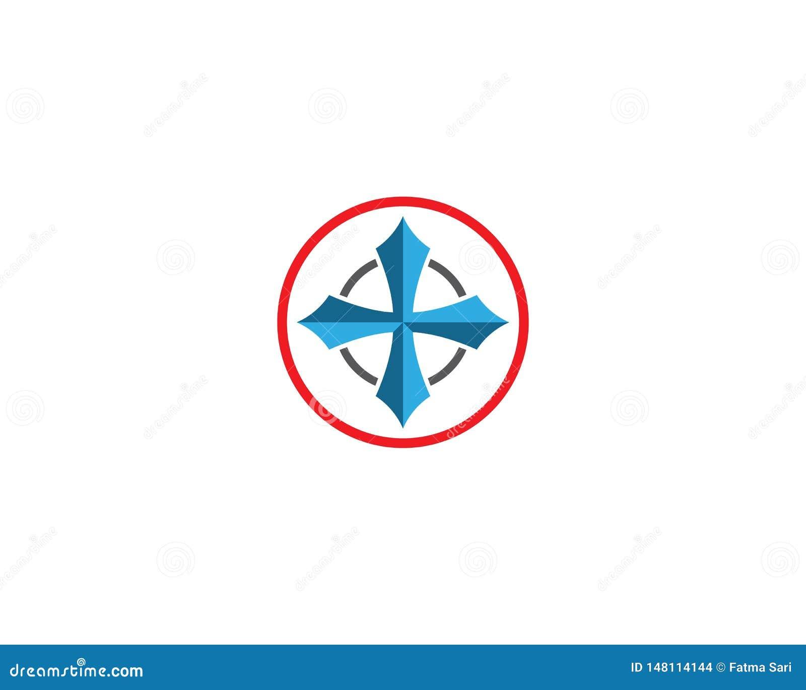 Icono del vector del comp?s