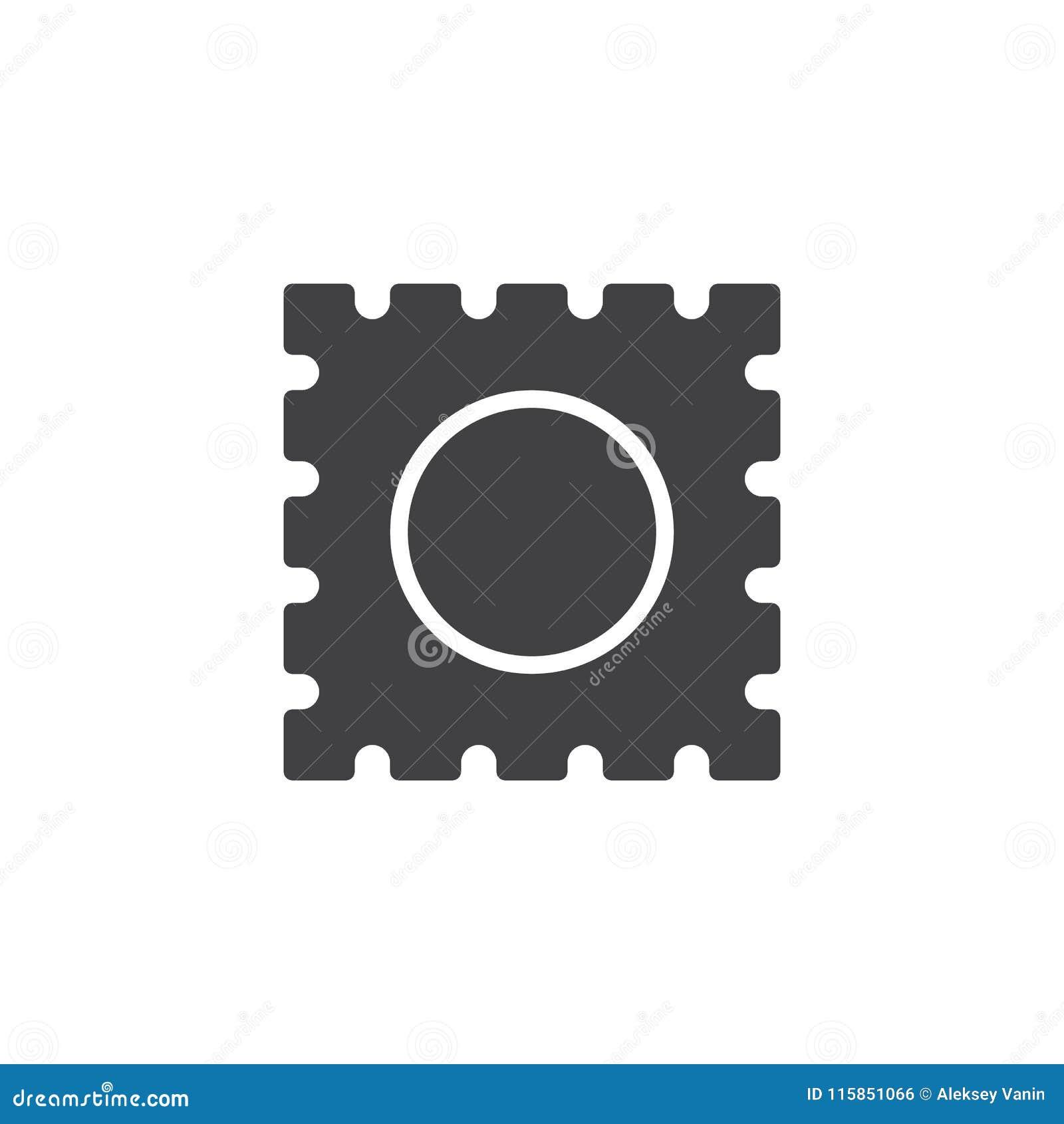 Icono del vector de la tableta del lsd