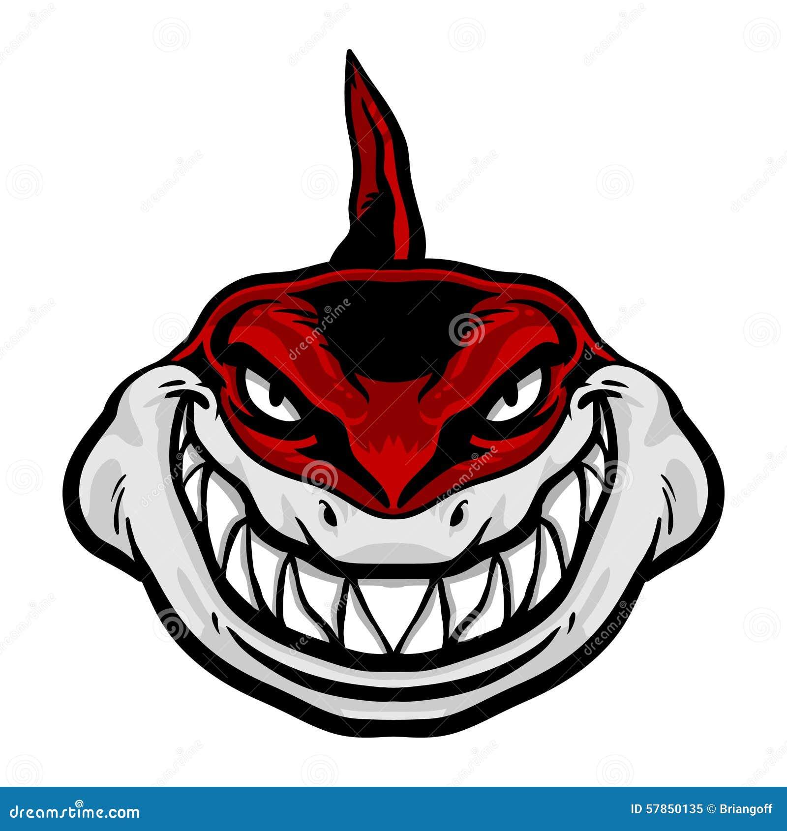 Icono del vector del tiburón