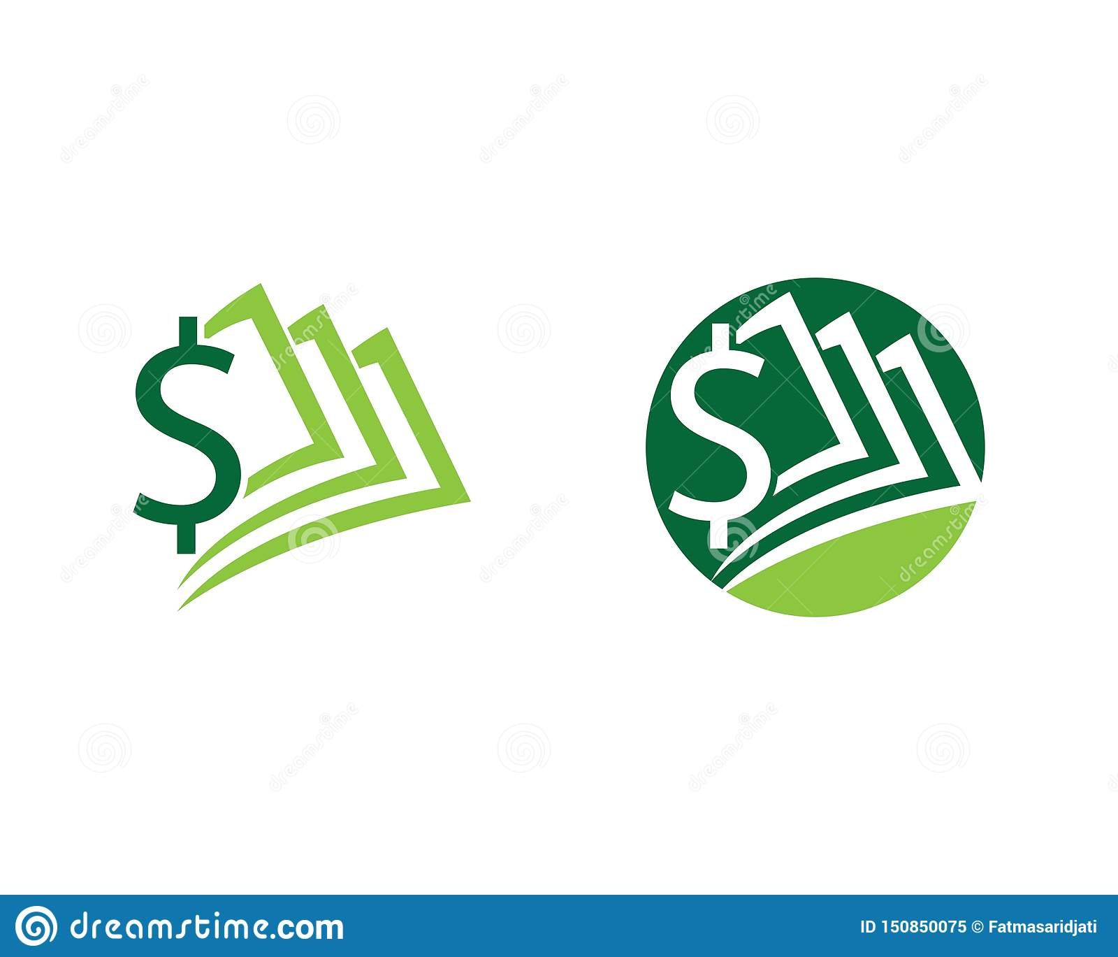 Icono del vector del dinero del d?lar
