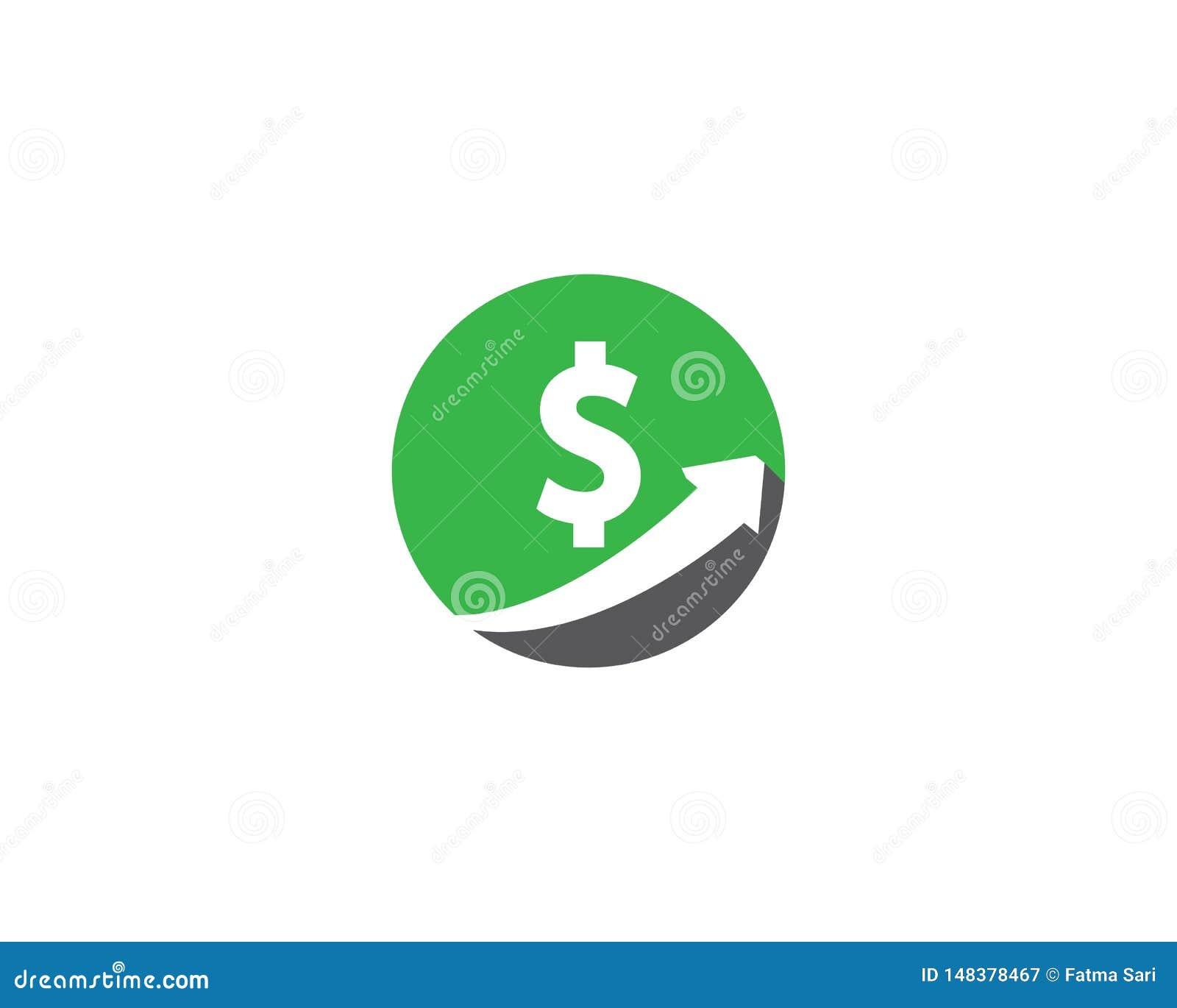 Icono del vector del dinero