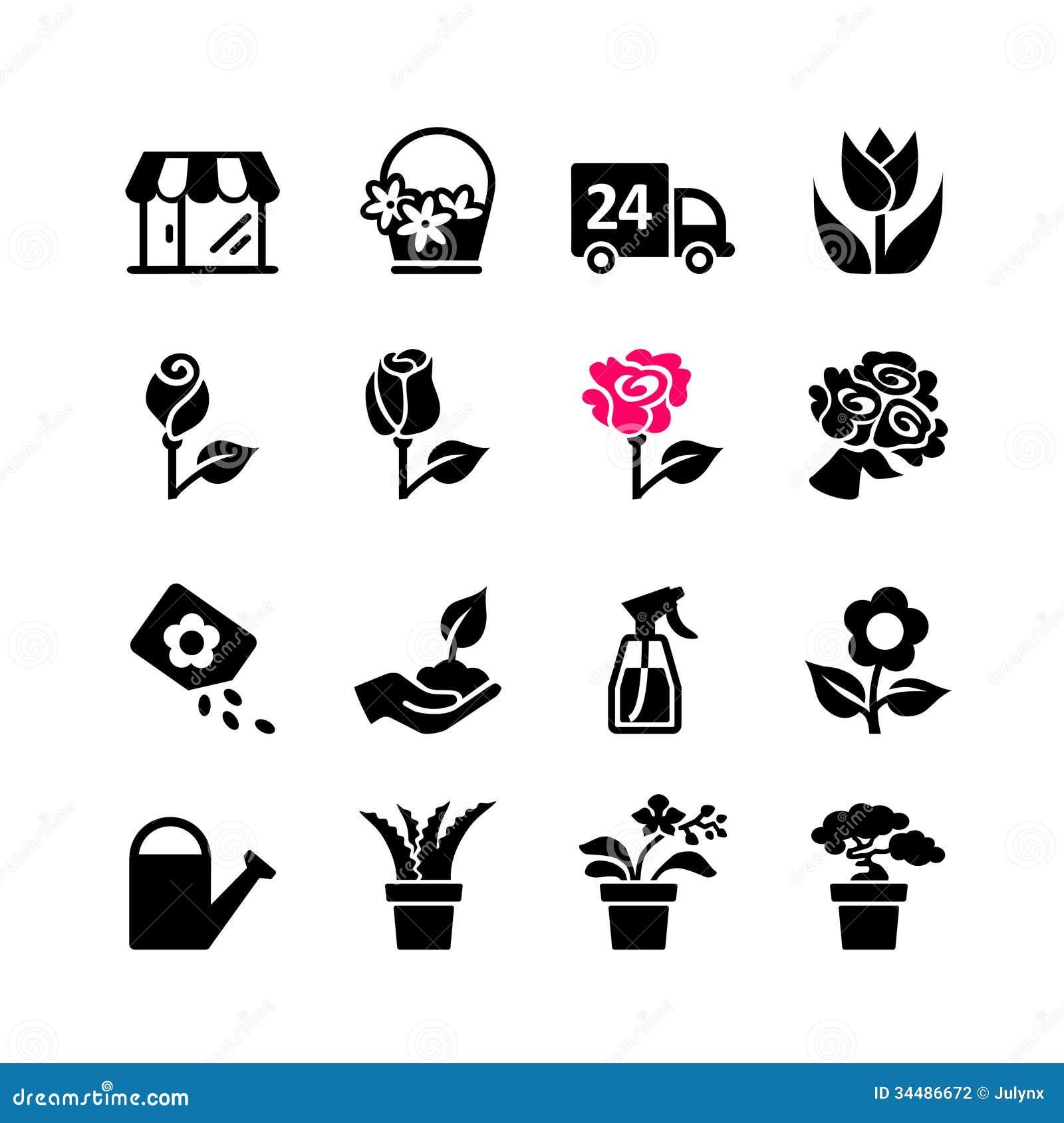Icono del web fijado - floristería