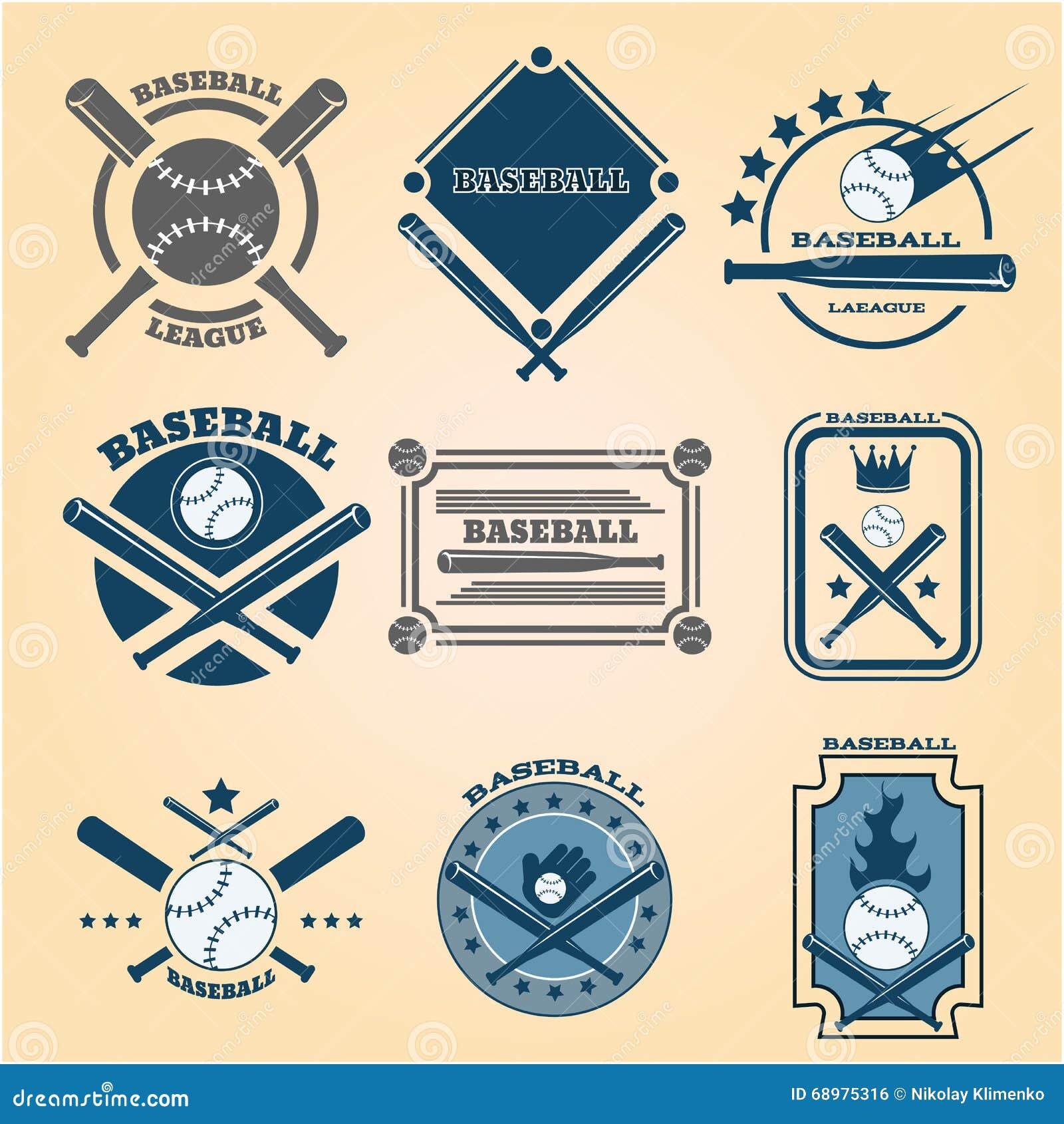 Icono EPS determinado 10 del béisbol del deporte