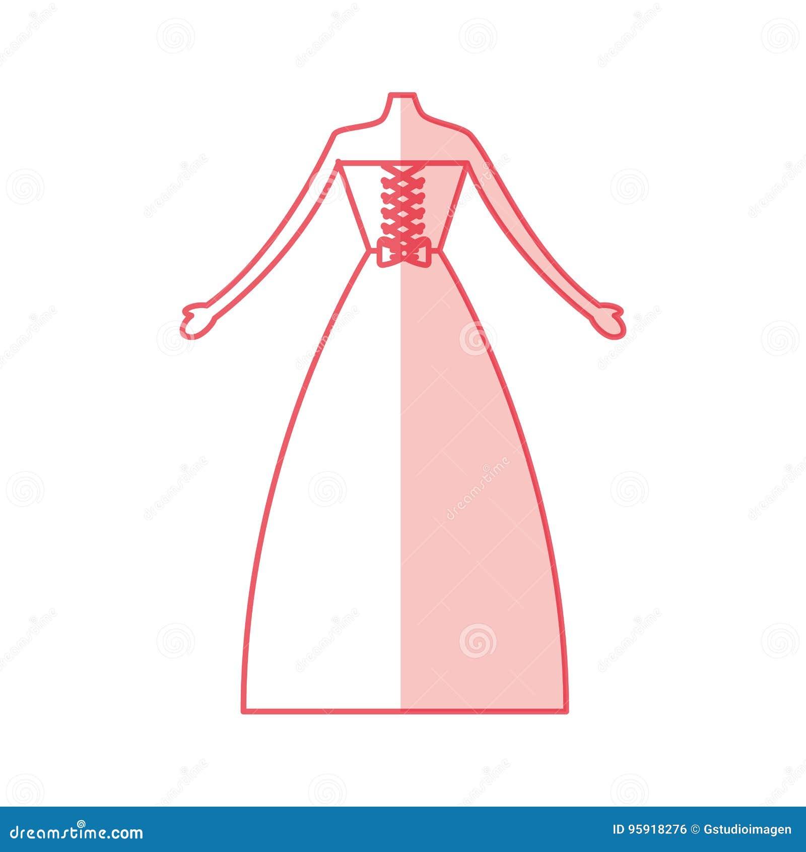 Bonito Boda Vestido Clip De Arte Ilustración - Colección de Vestidos ...