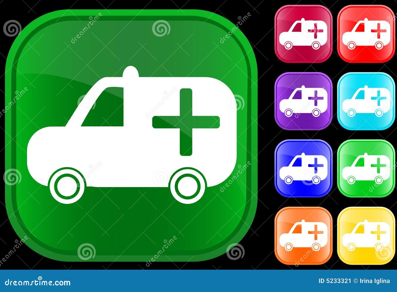 Icono médico de la ambulancia