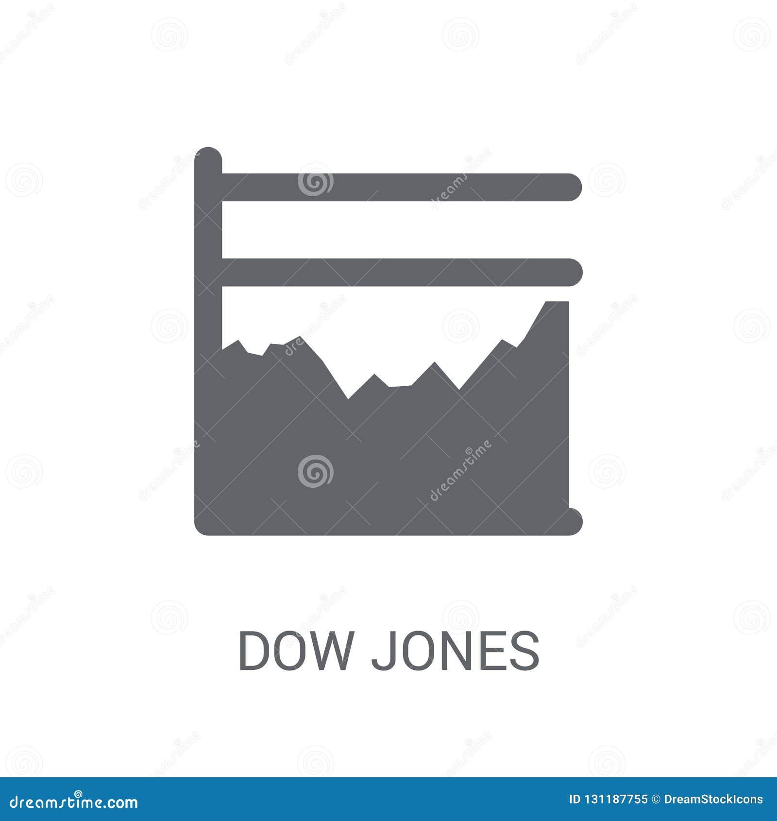 Icono medio industrial de Dow Jones