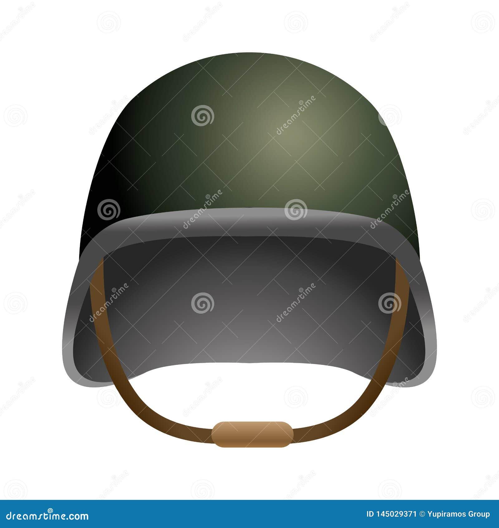 Icono militar del casco