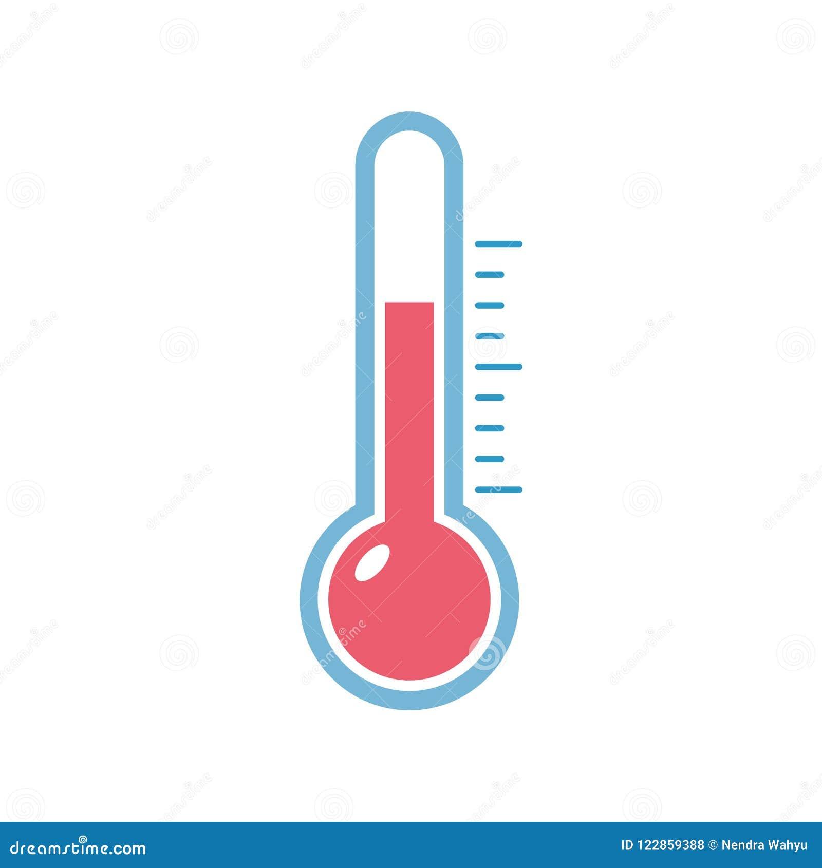 Icono Minimalista Plano Del Calor Del Termometro Ilustracion Del Vector Ilustracion De Plano Icono 122859388 Desde su invención ha evolucionado mucho, principalmente a partir del desarrollo de los termómetros digitales. icono minimalista plano del calor del