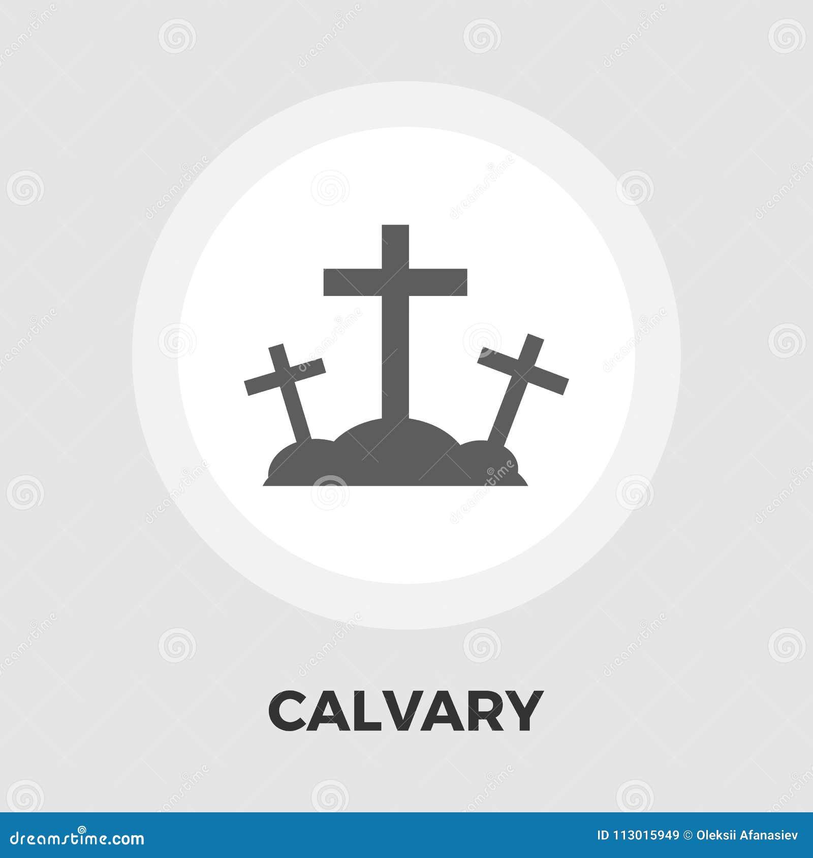 Icono plano del Calvary