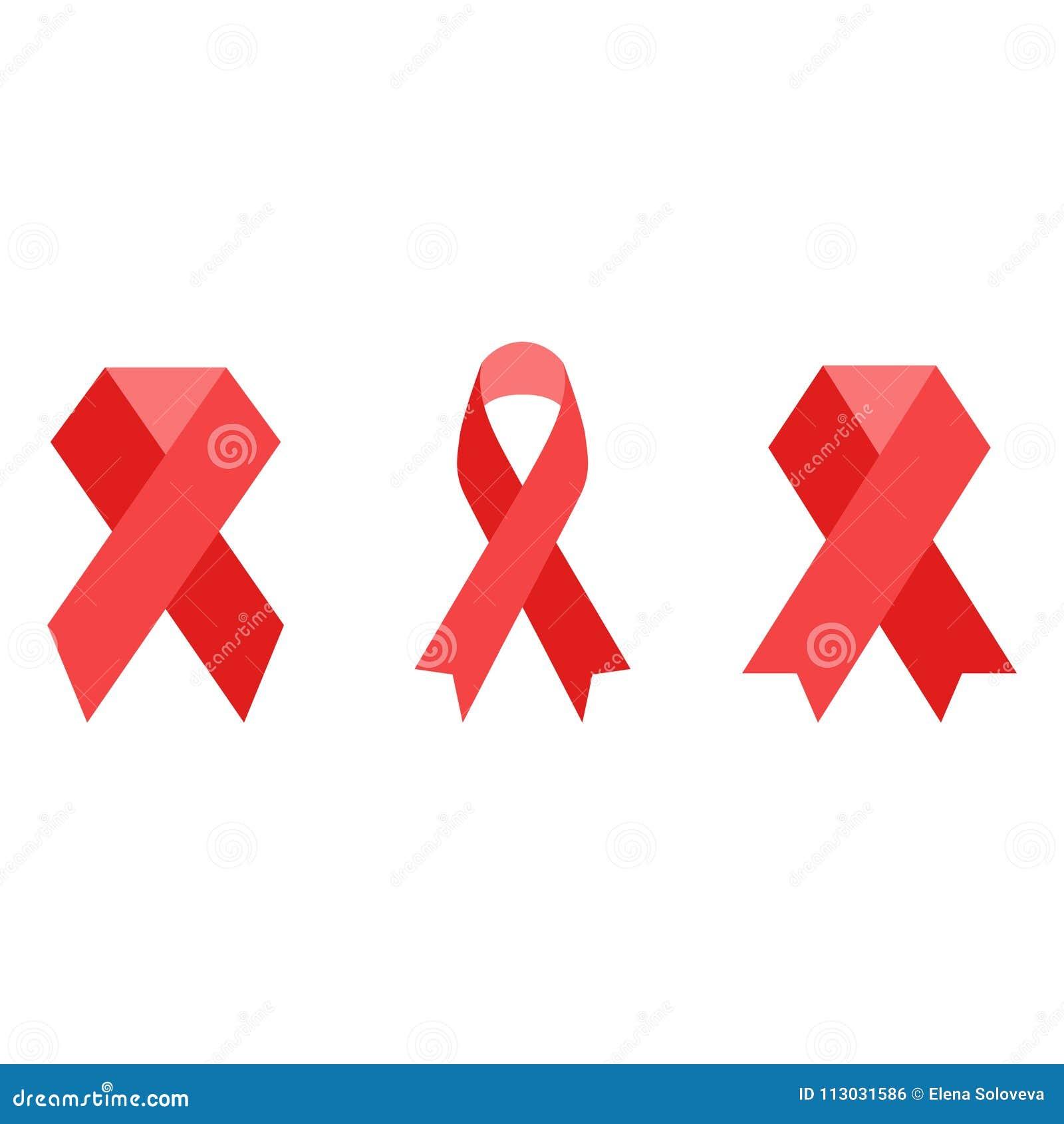 Icono SIDA de la cinta Ayuda a la cinta del rojo del conocimiento