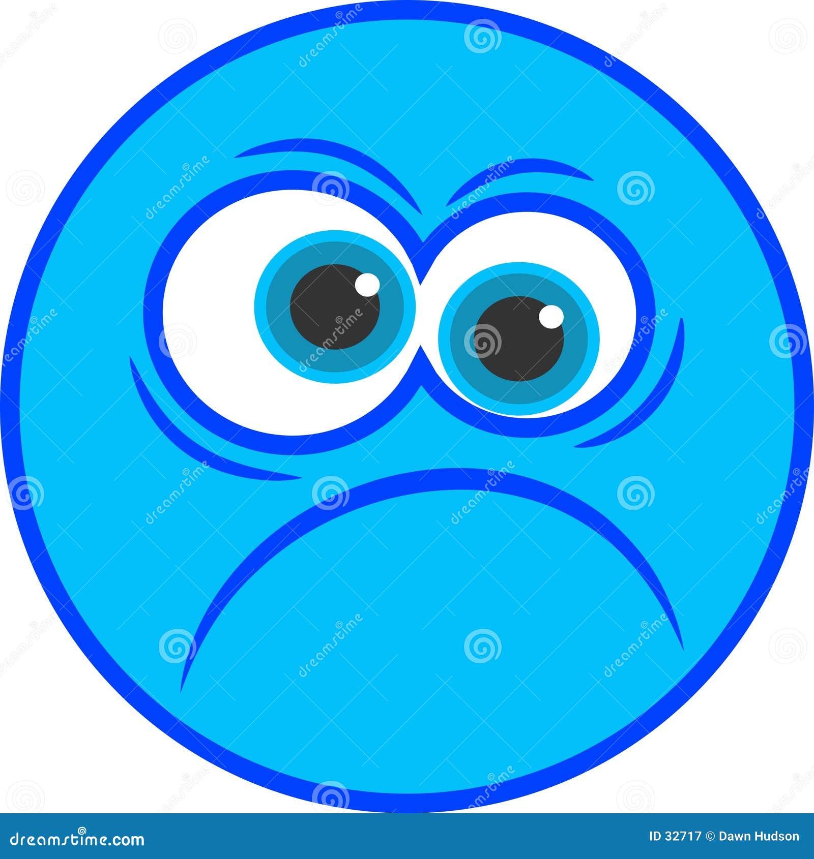 Download Icono sonriente enfadado ilustración del vector. Ilustración de sensaciones - 32717