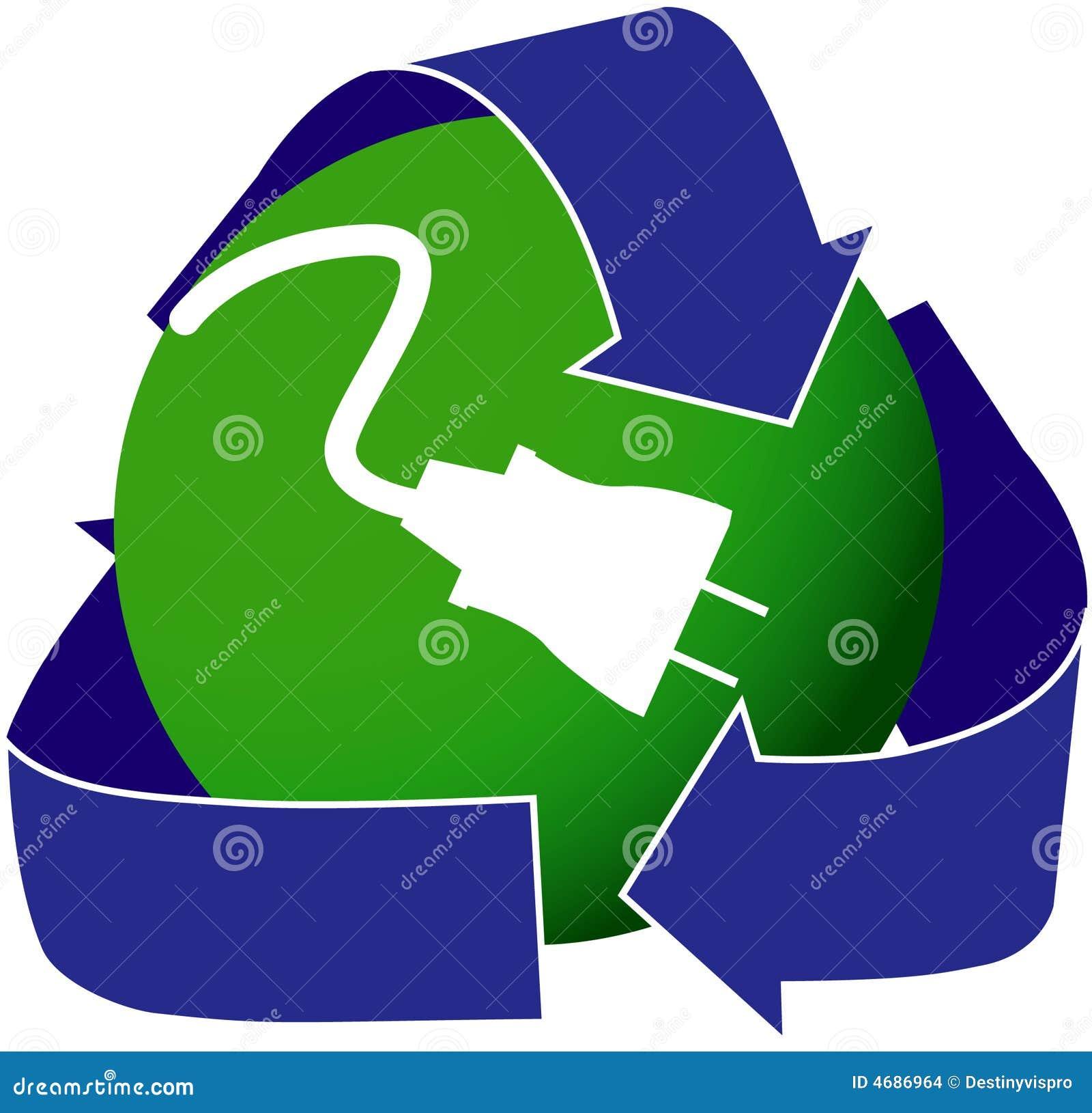 Icono verde de la electricidad imagenes de archivo for Electricidad