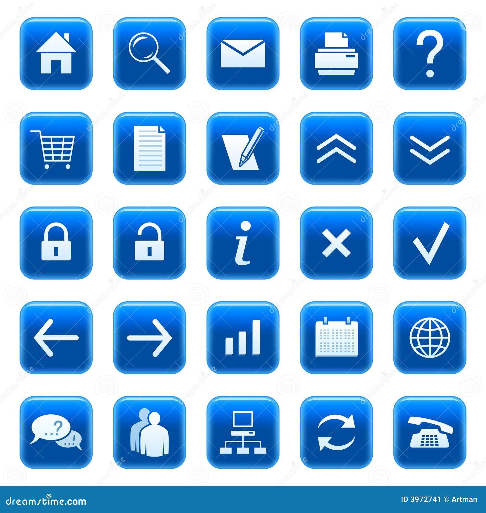Iconos/botones del Web