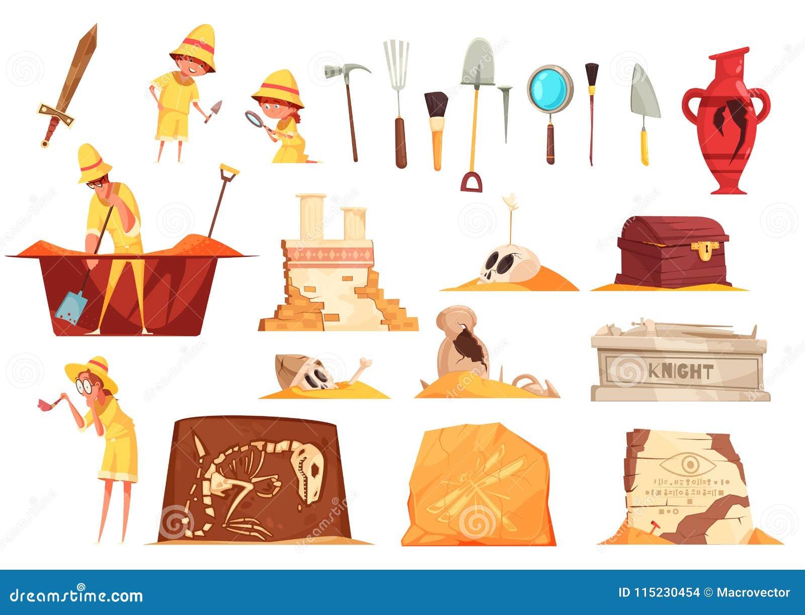 Iconos de la arqueología fijados