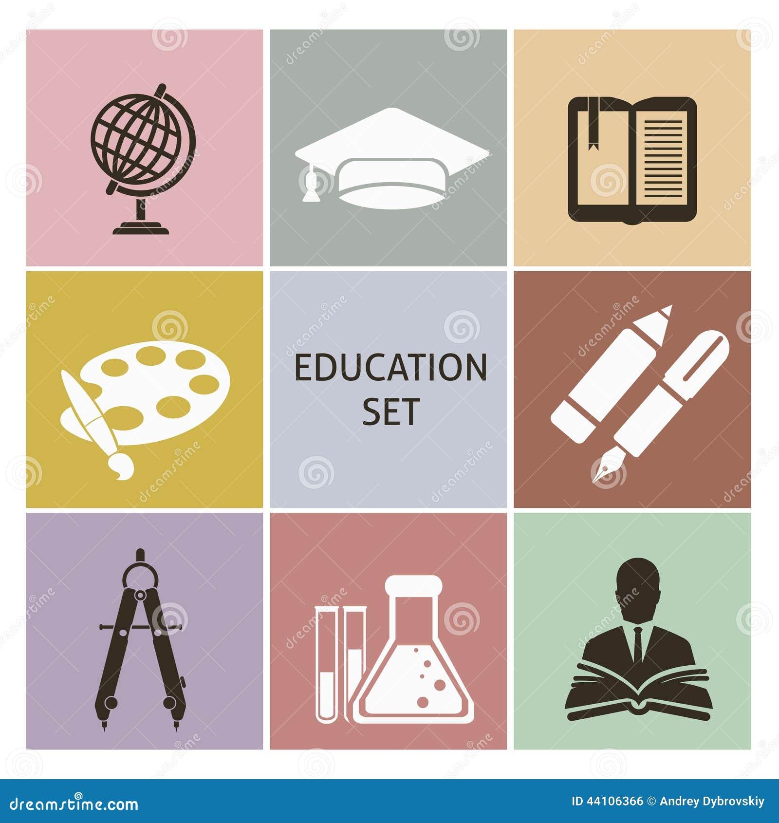 Iconos de la educación