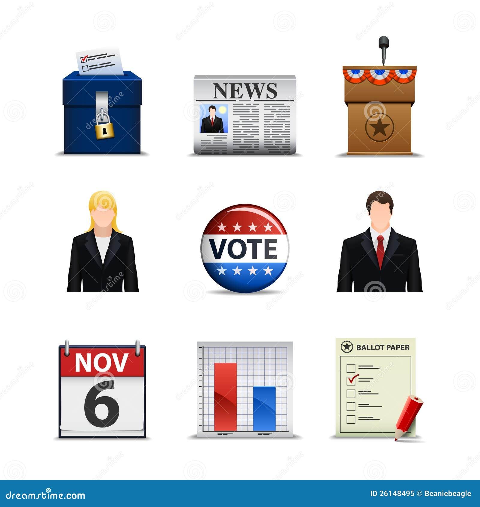 Iconos de la elección