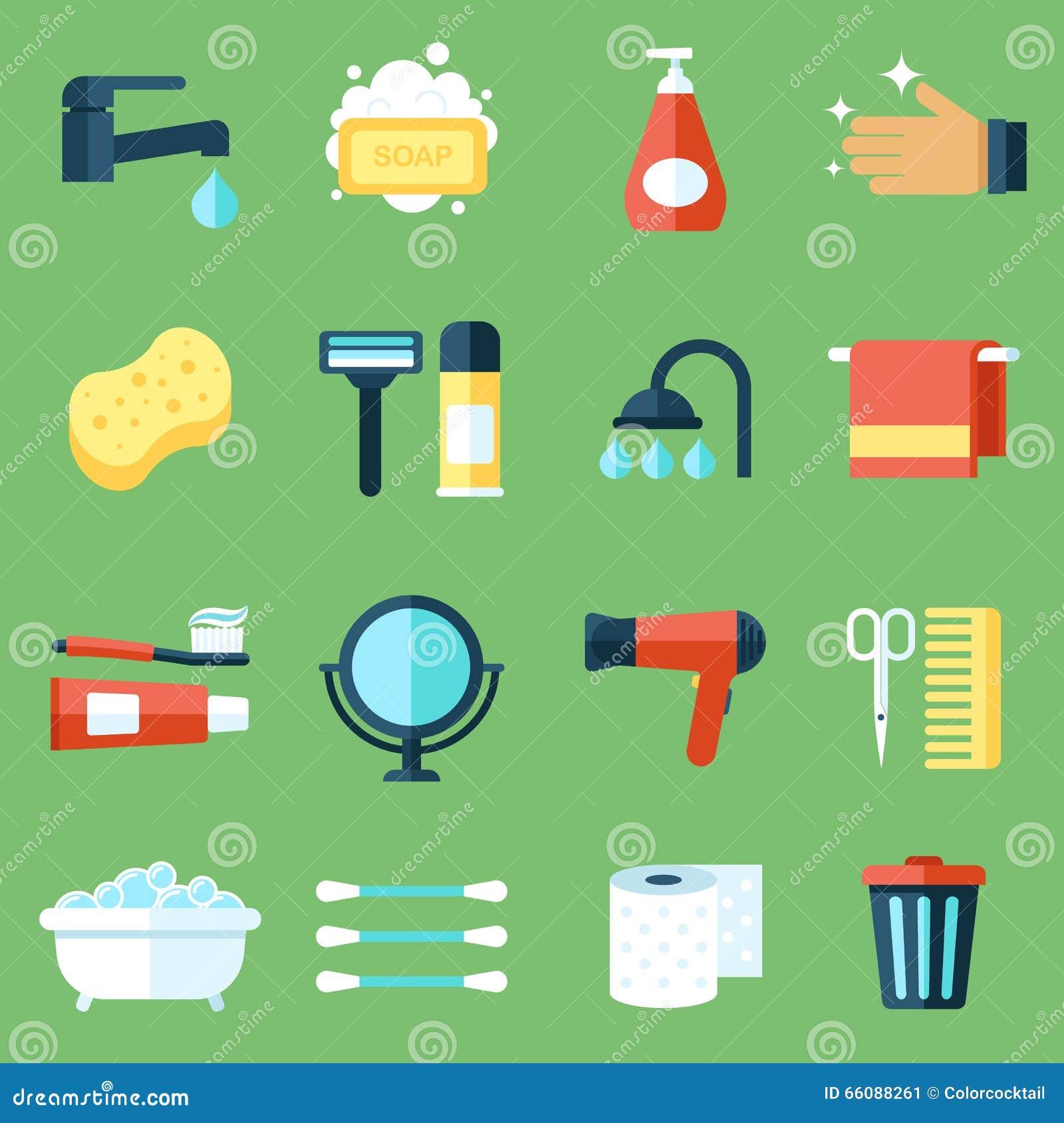 Iconos de la higiene