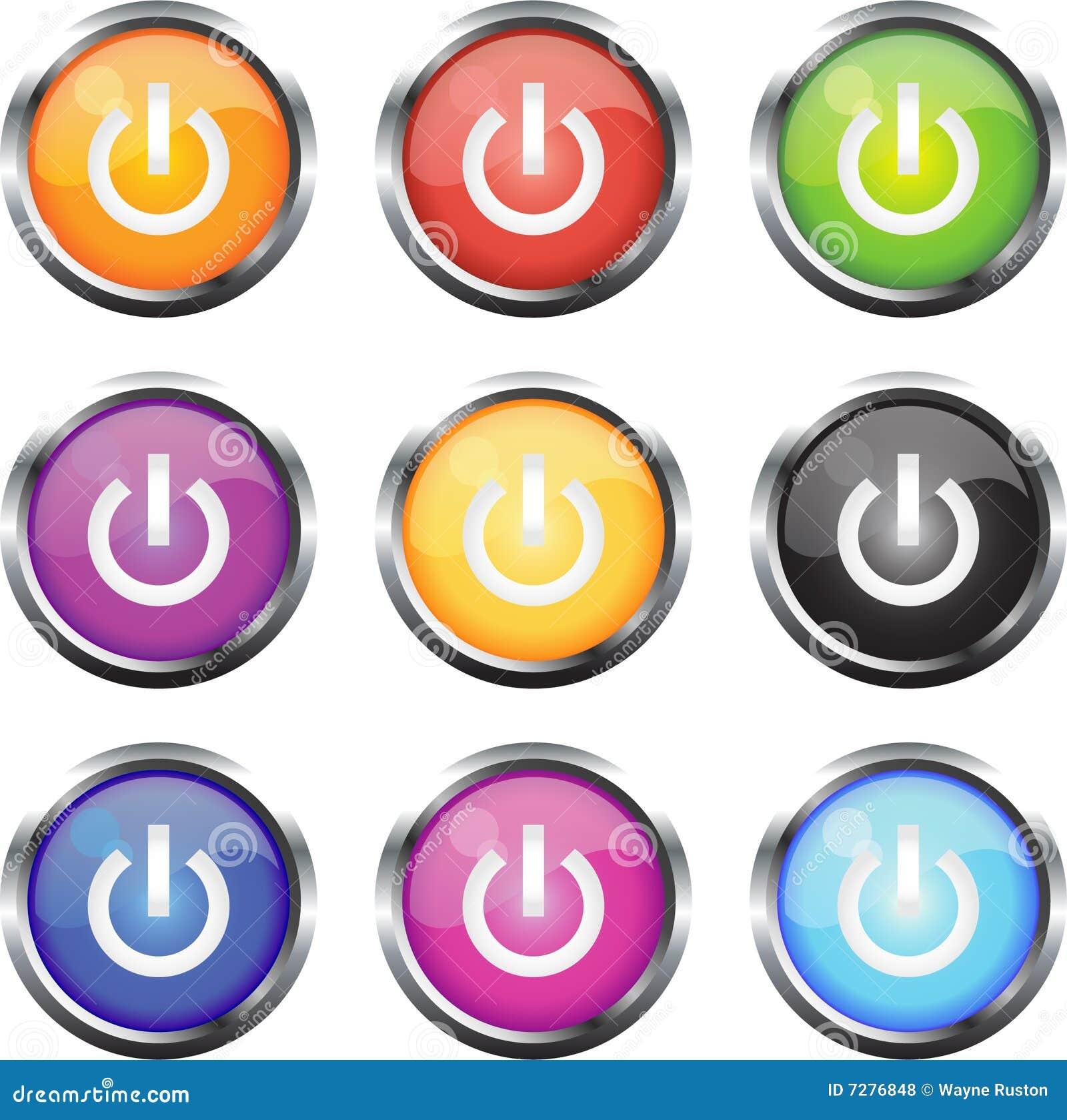 Iconos de la insignia de  ON