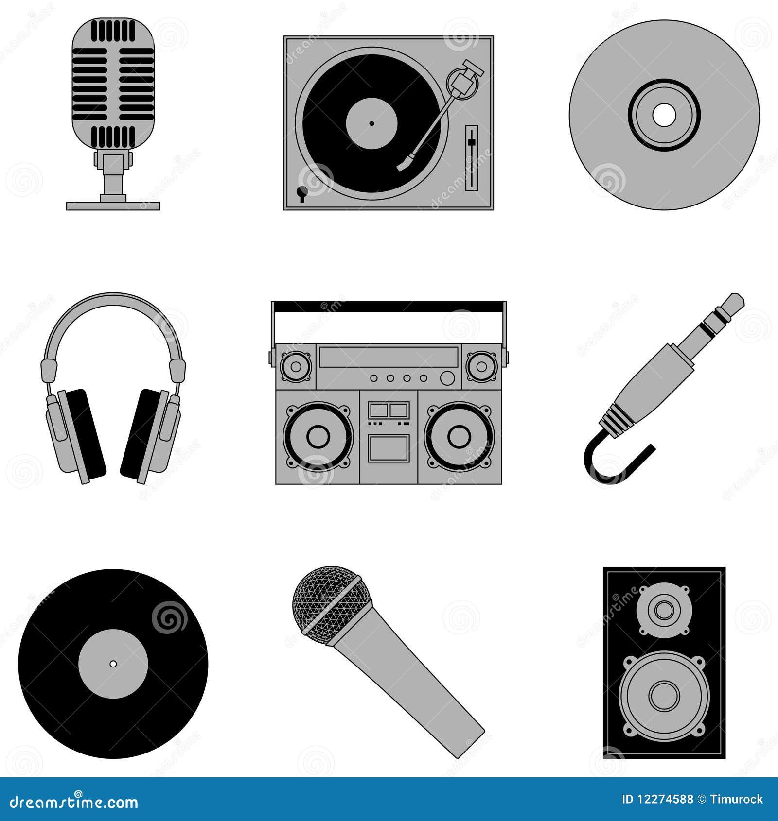 Iconos de la música.