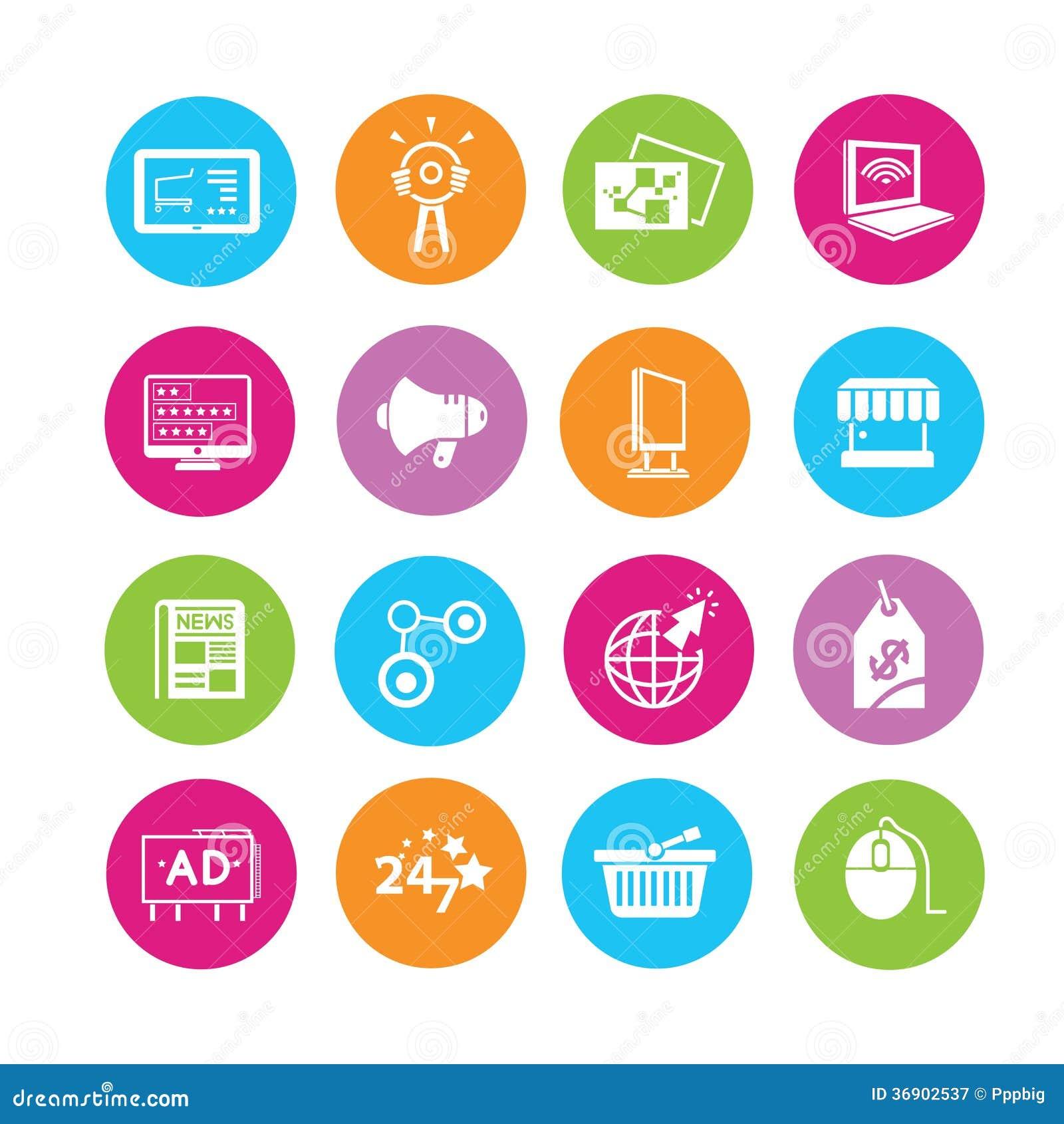 Iconos de la publicidad