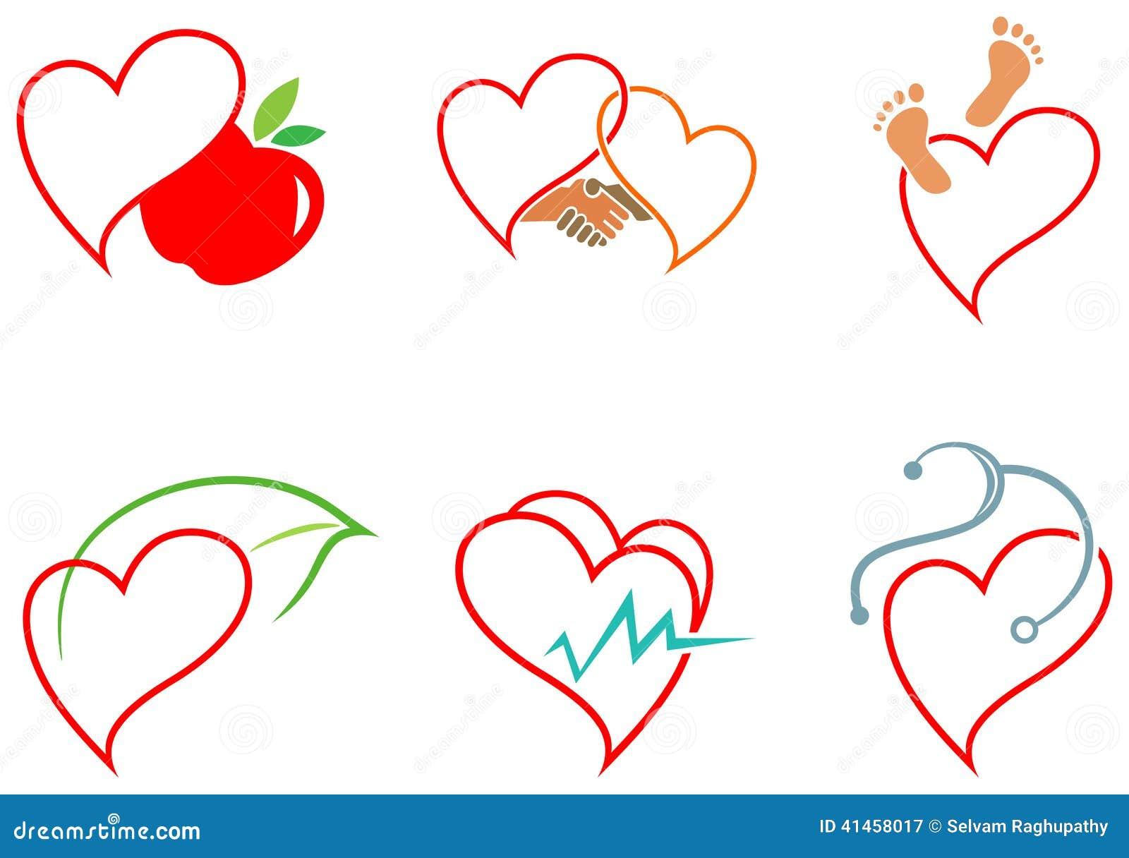 Iconos de la salud del corazón