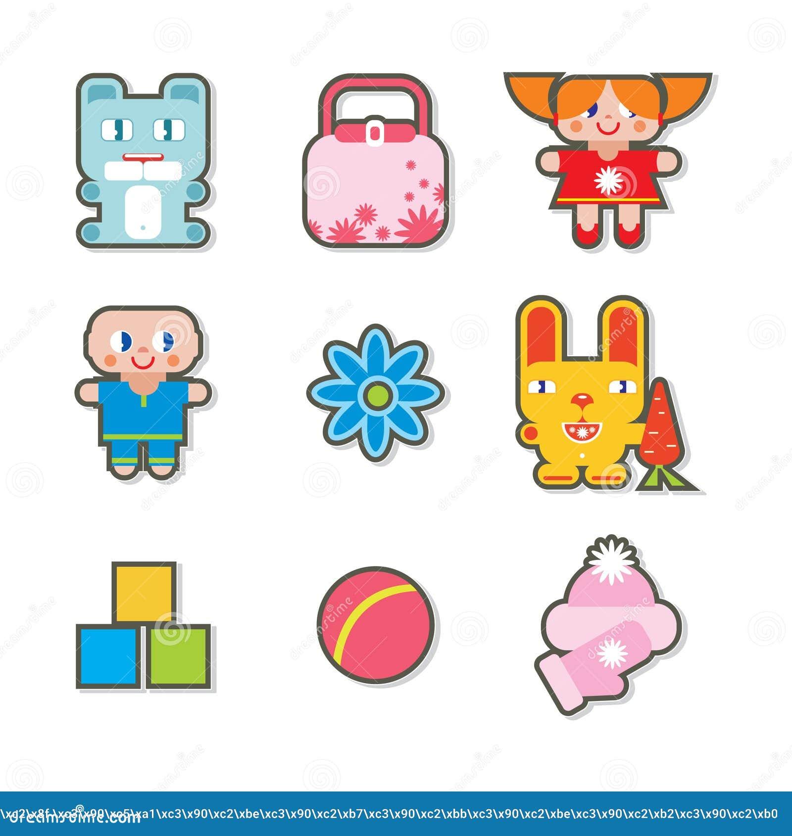 Iconos de los niños