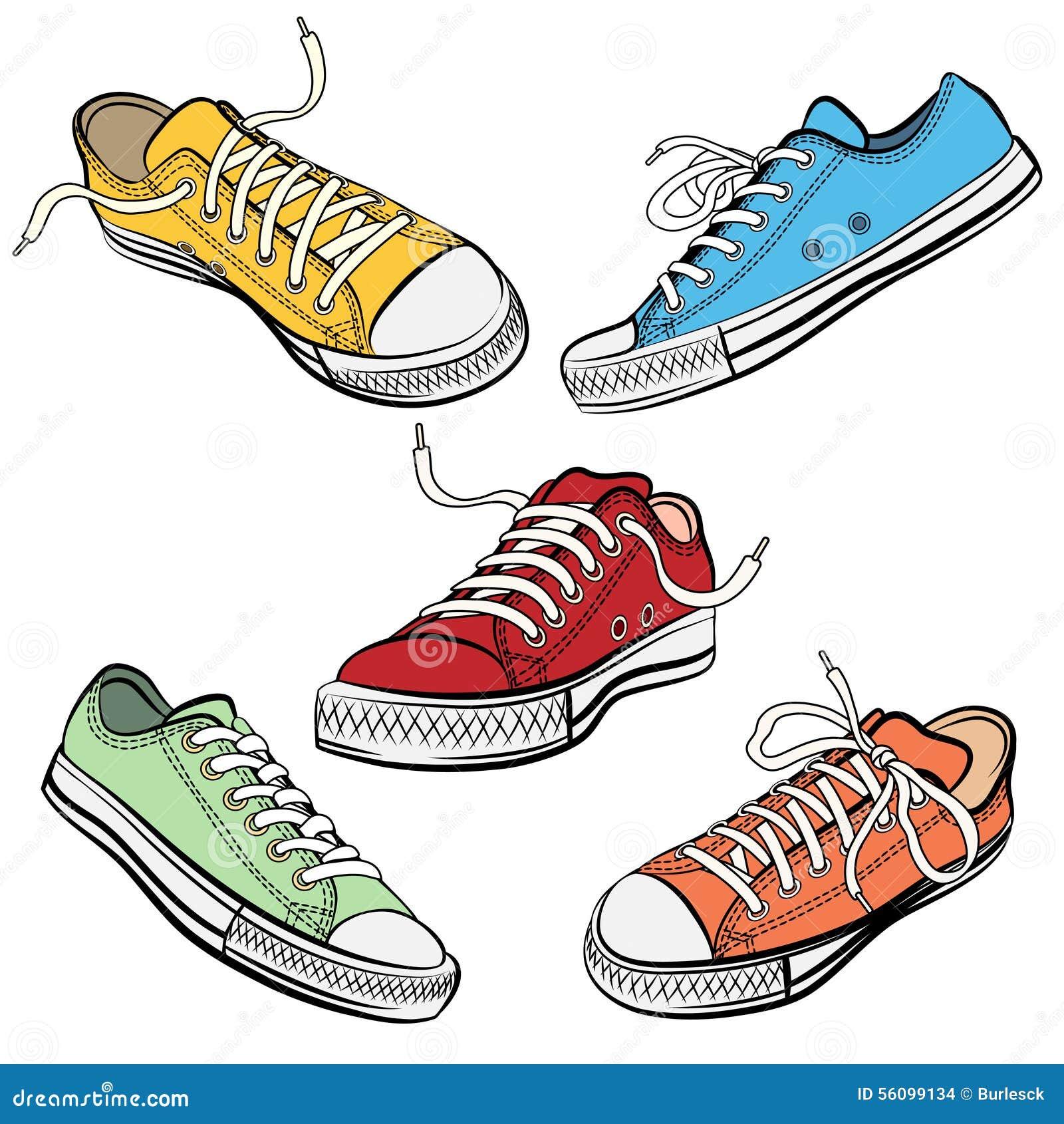 O Deporte Las Zapatillas Iconos Del De Zapatos En Los KTJc1lF