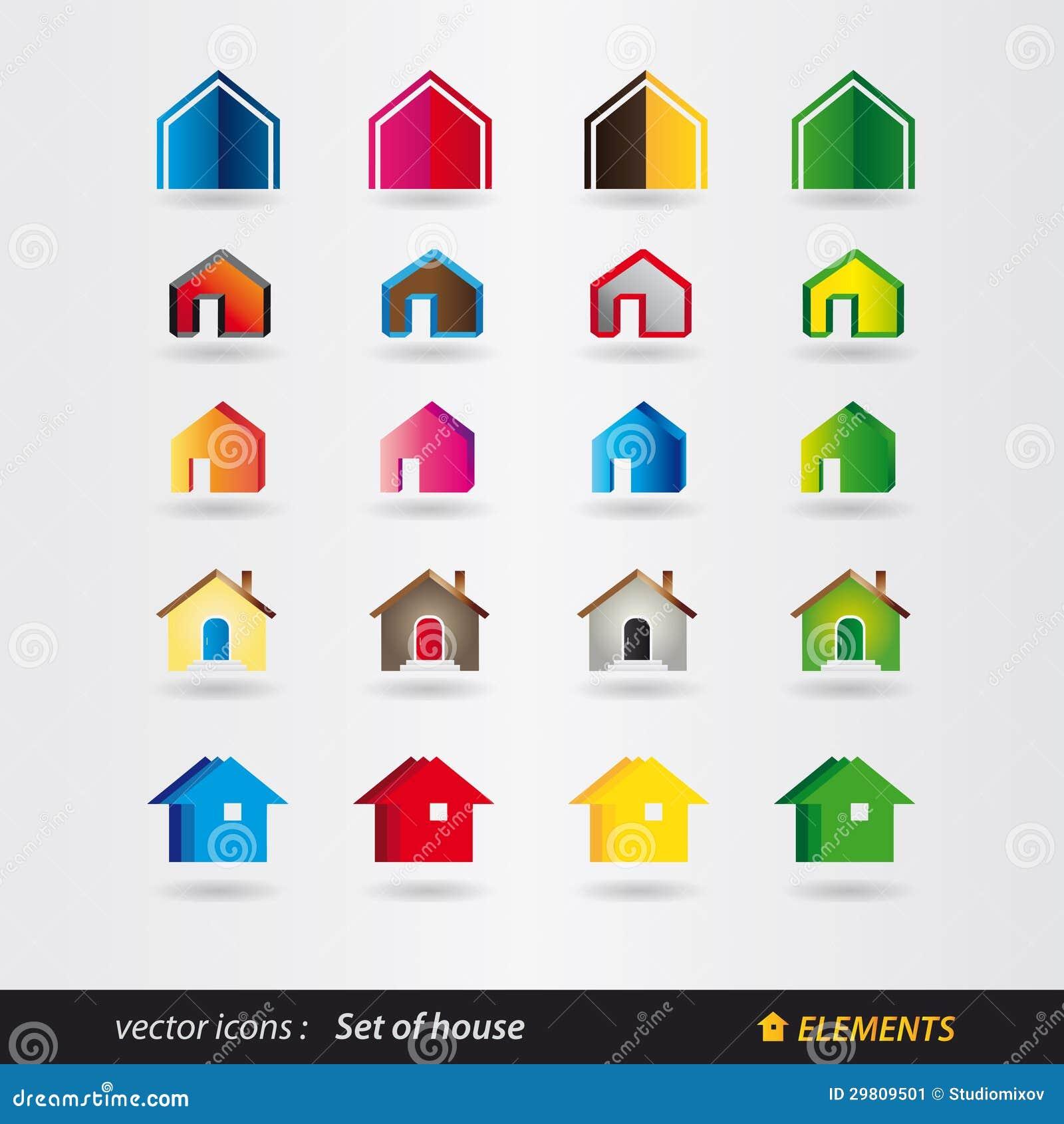 Sistema de la casa del logotipo propiedades for Inmobiliaria la casa