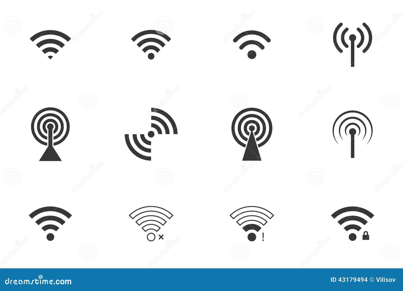 Iconos de Wifi