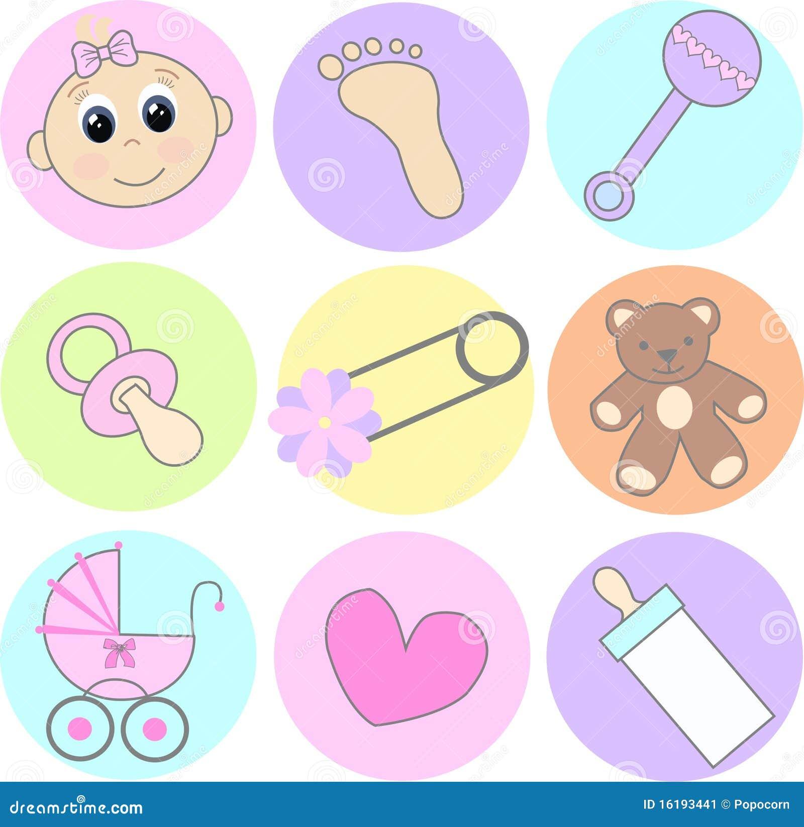 Iconos del bebé