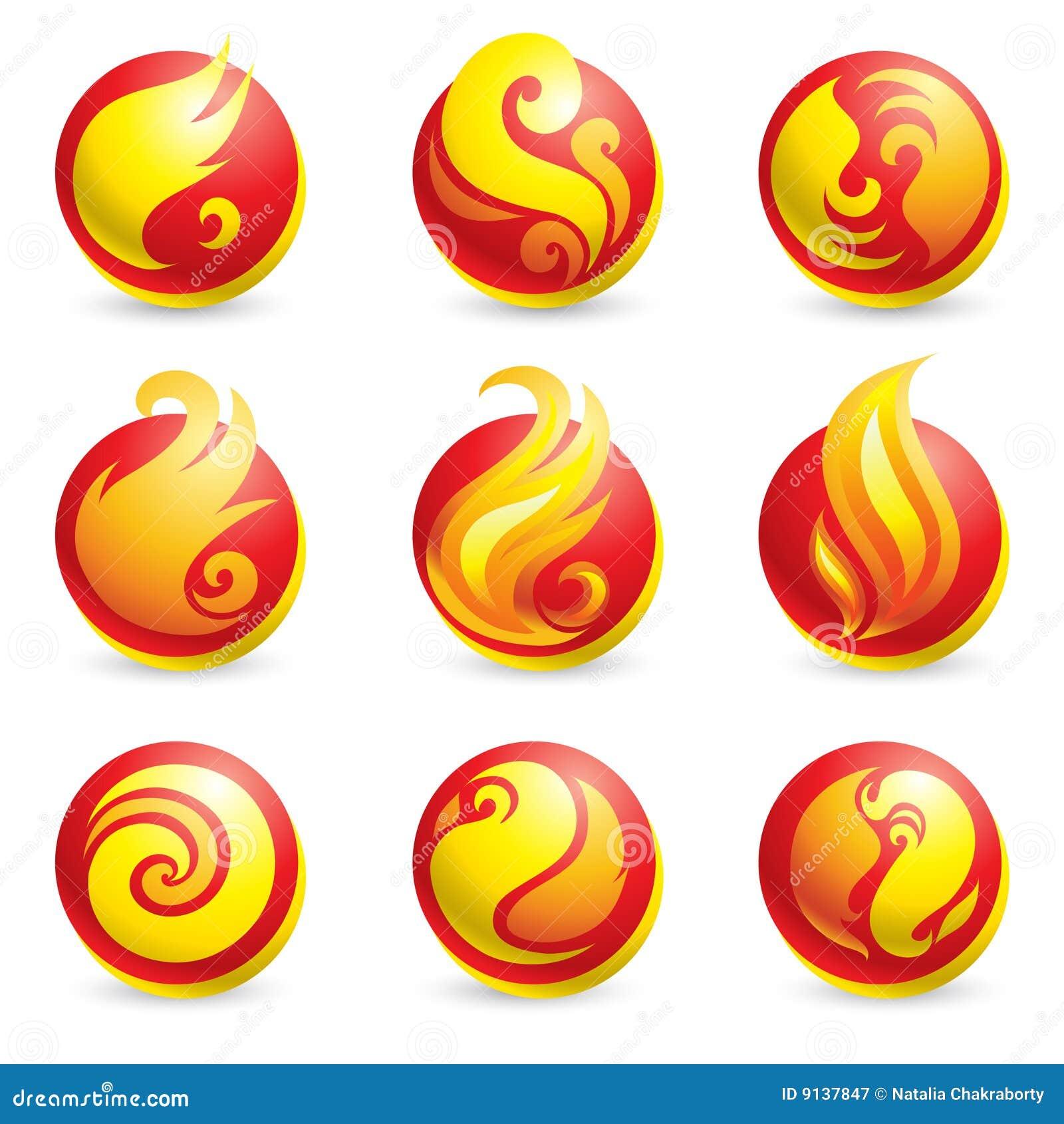 Iconos del fuego