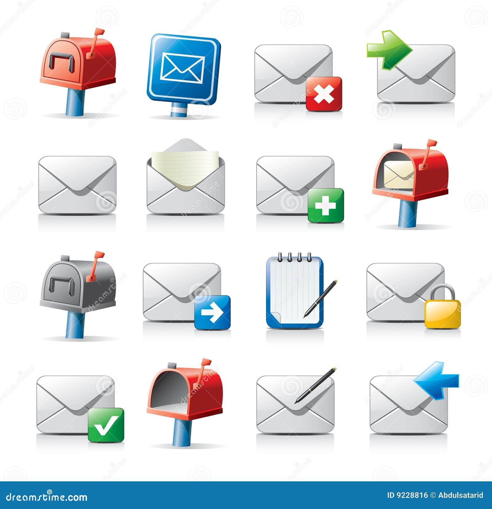 Iconos del mensaje