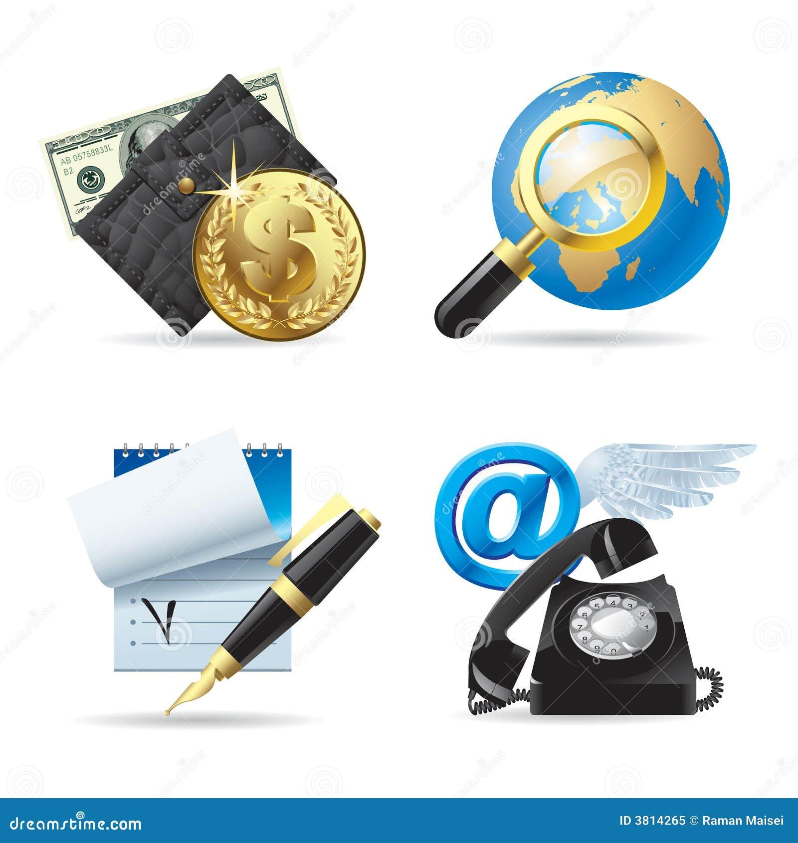 Iconos del ordenador y del Web I