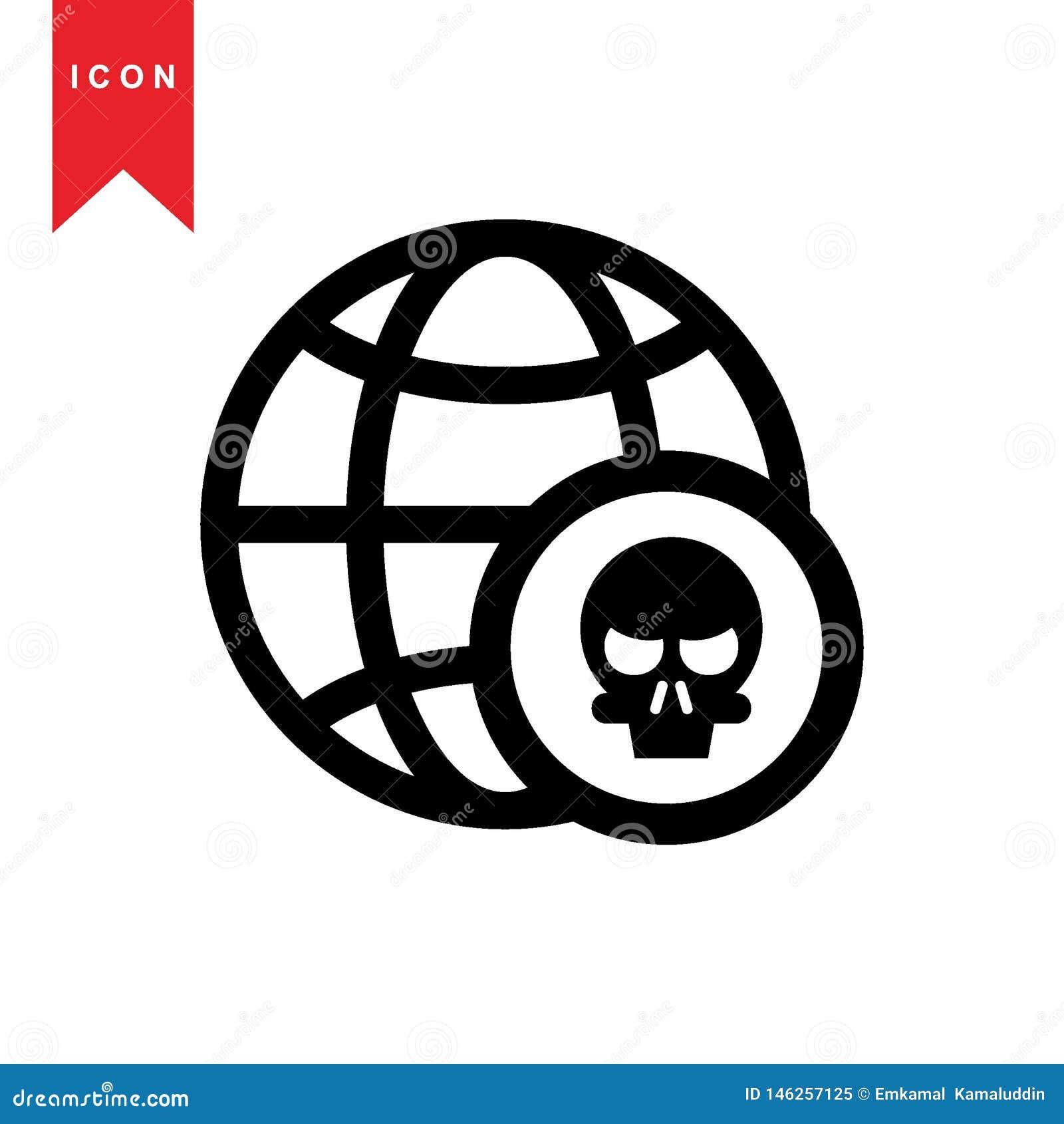 Iconos del pirata inform?tico