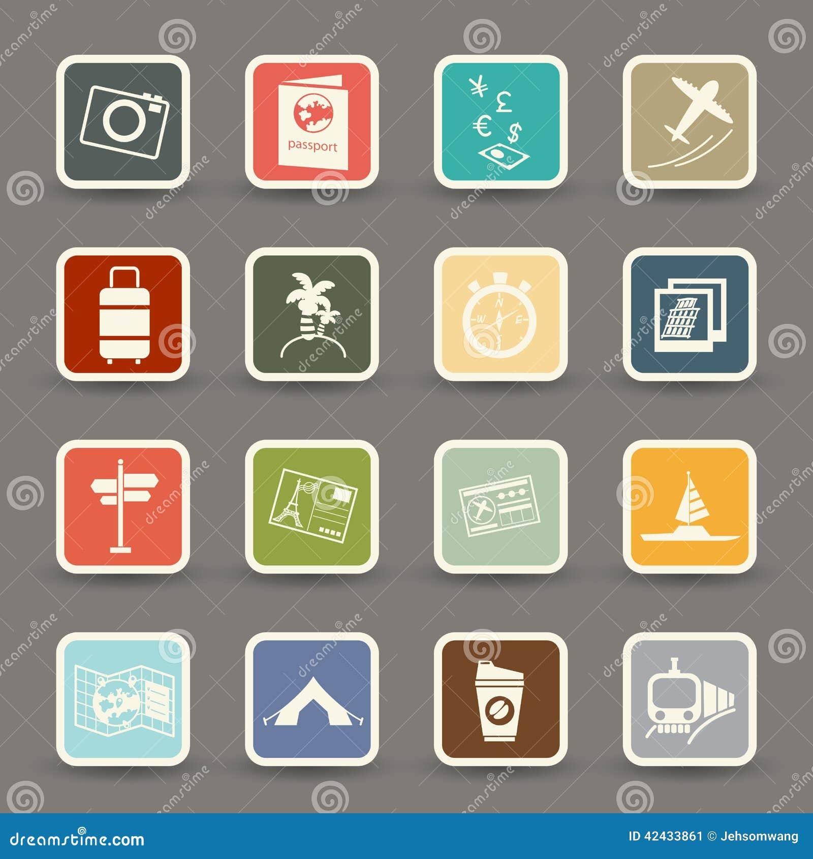 Iconos del recorrido