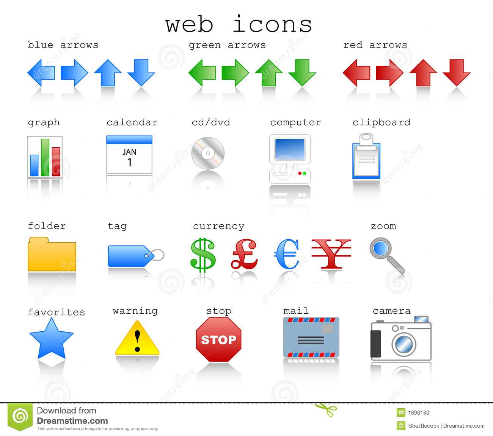 Iconos del Web