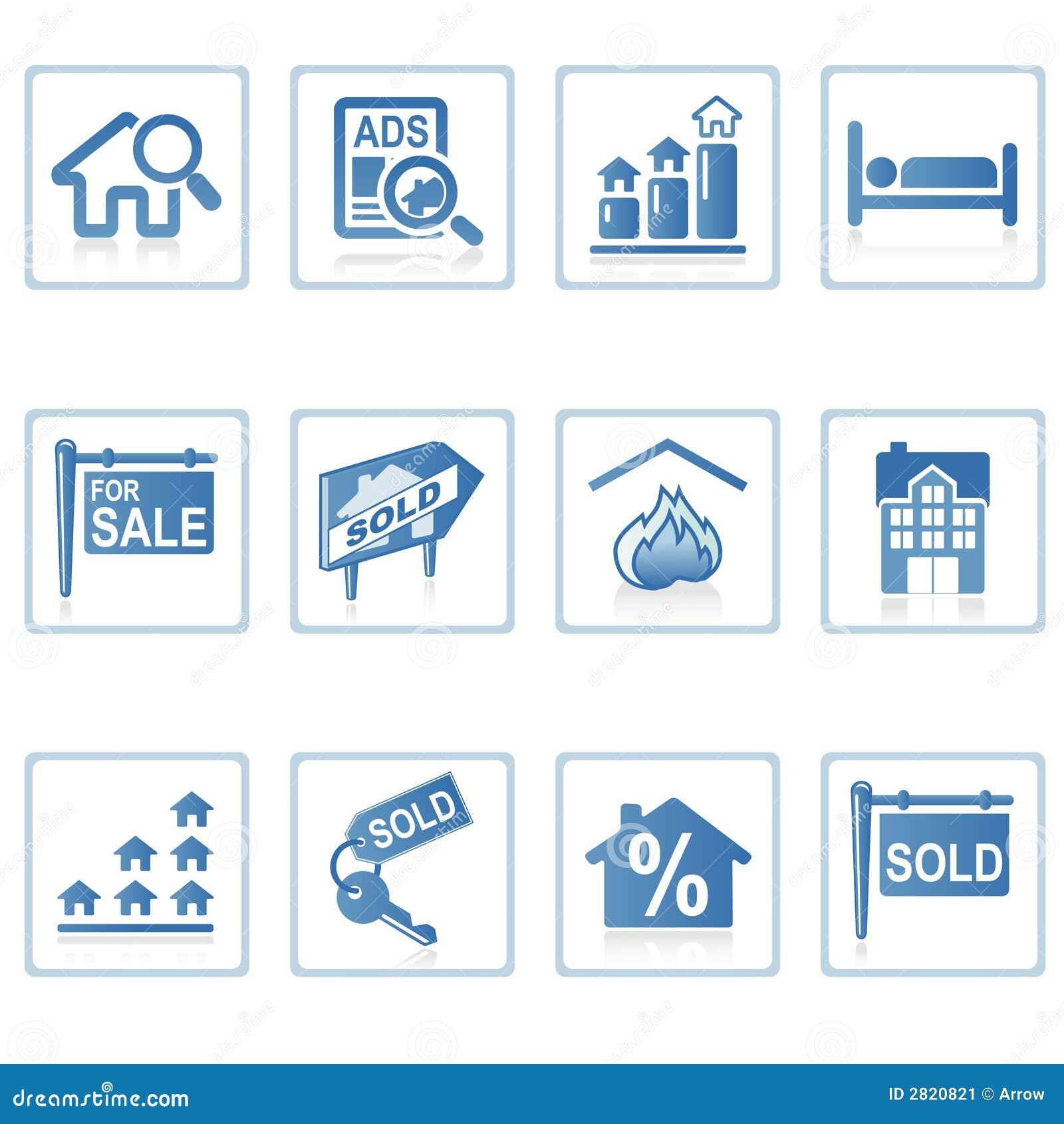 Iconos del Web: Propiedades inmobiliarias 2