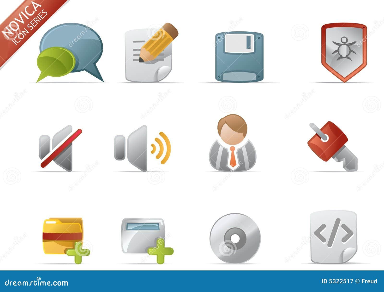 Iconos del Web - serie #4 de Novica