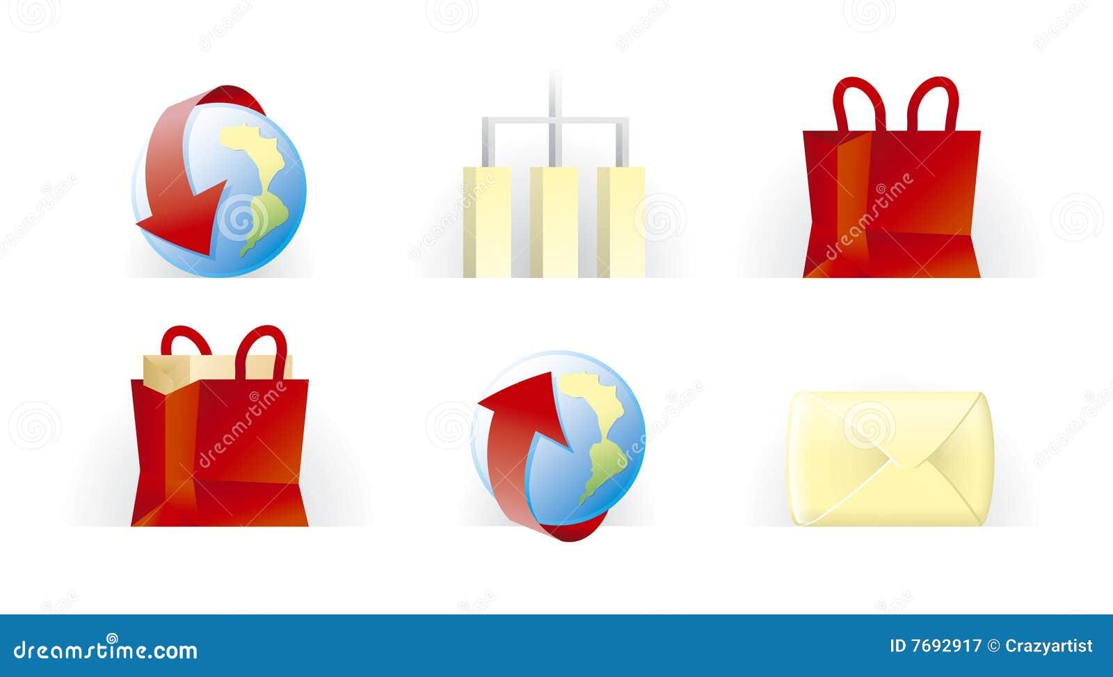 Iconos del Web site y del Internet | T.U.P.O. Color