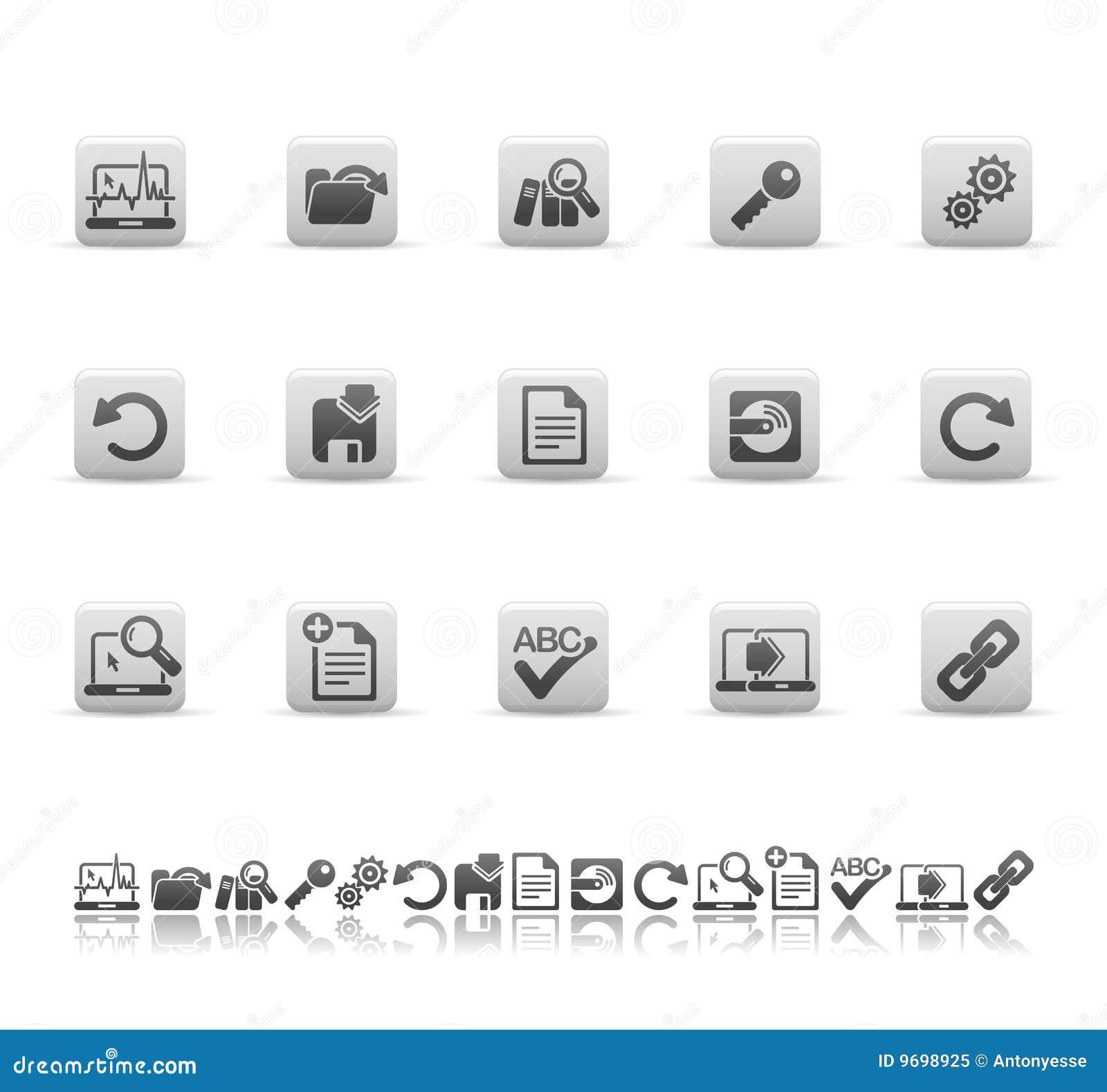 Iconos del Web y de la oficina