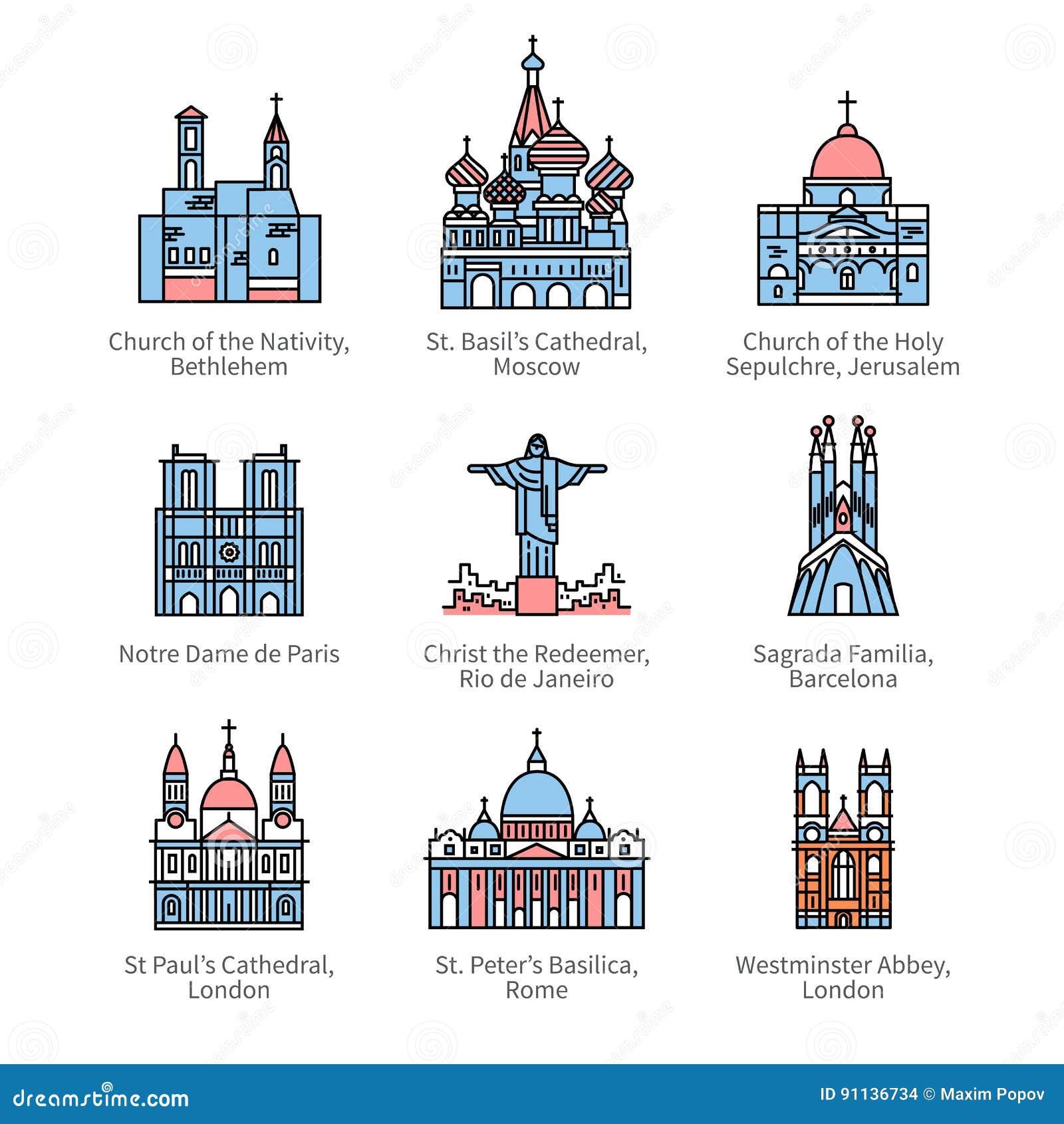Catedrales Ilustraciones Stock, Vectores, Y Clipart – (163 ...