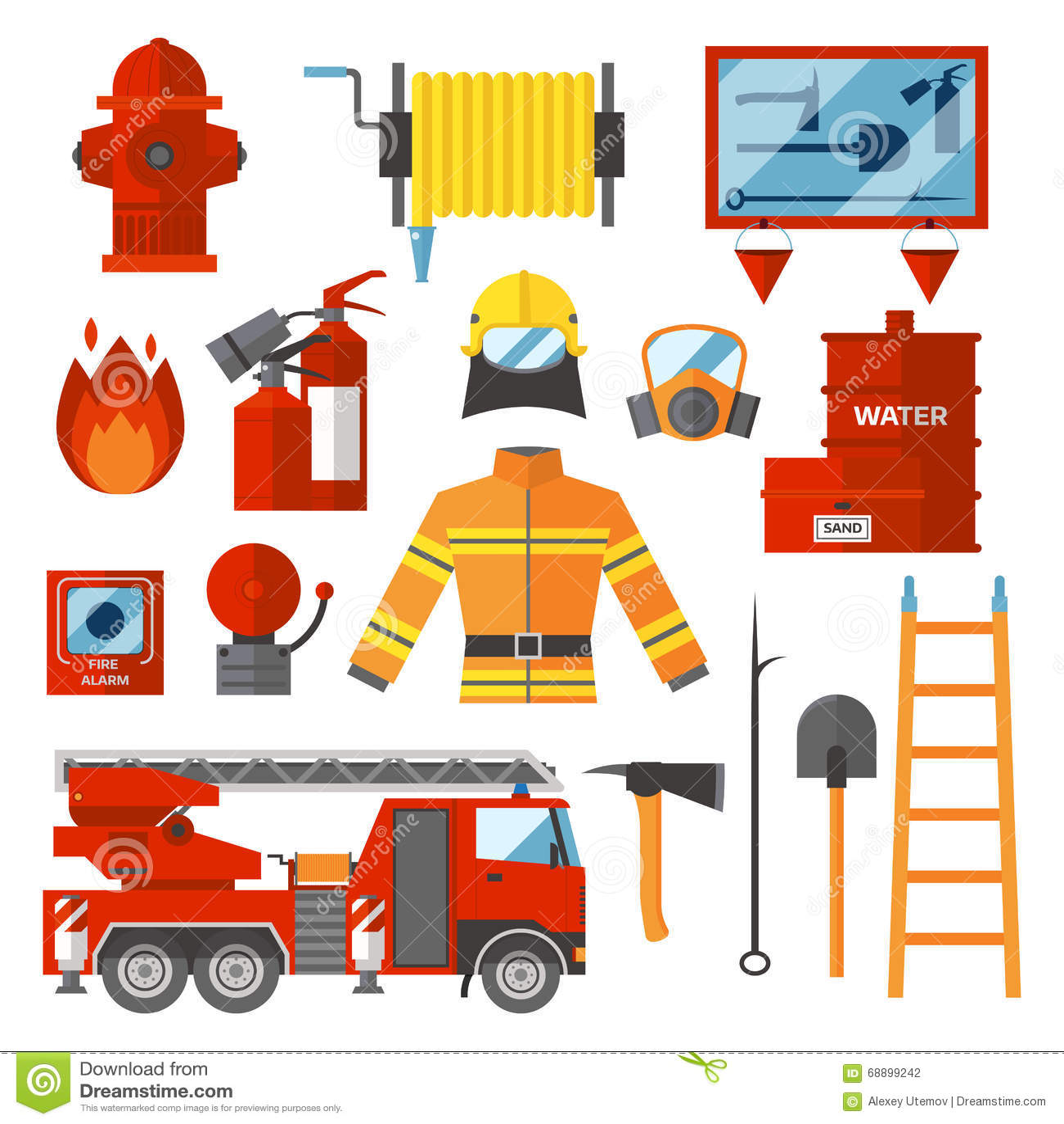 Lujoso Página Para Colorear De Seguridad Contra Incendios Colección ...