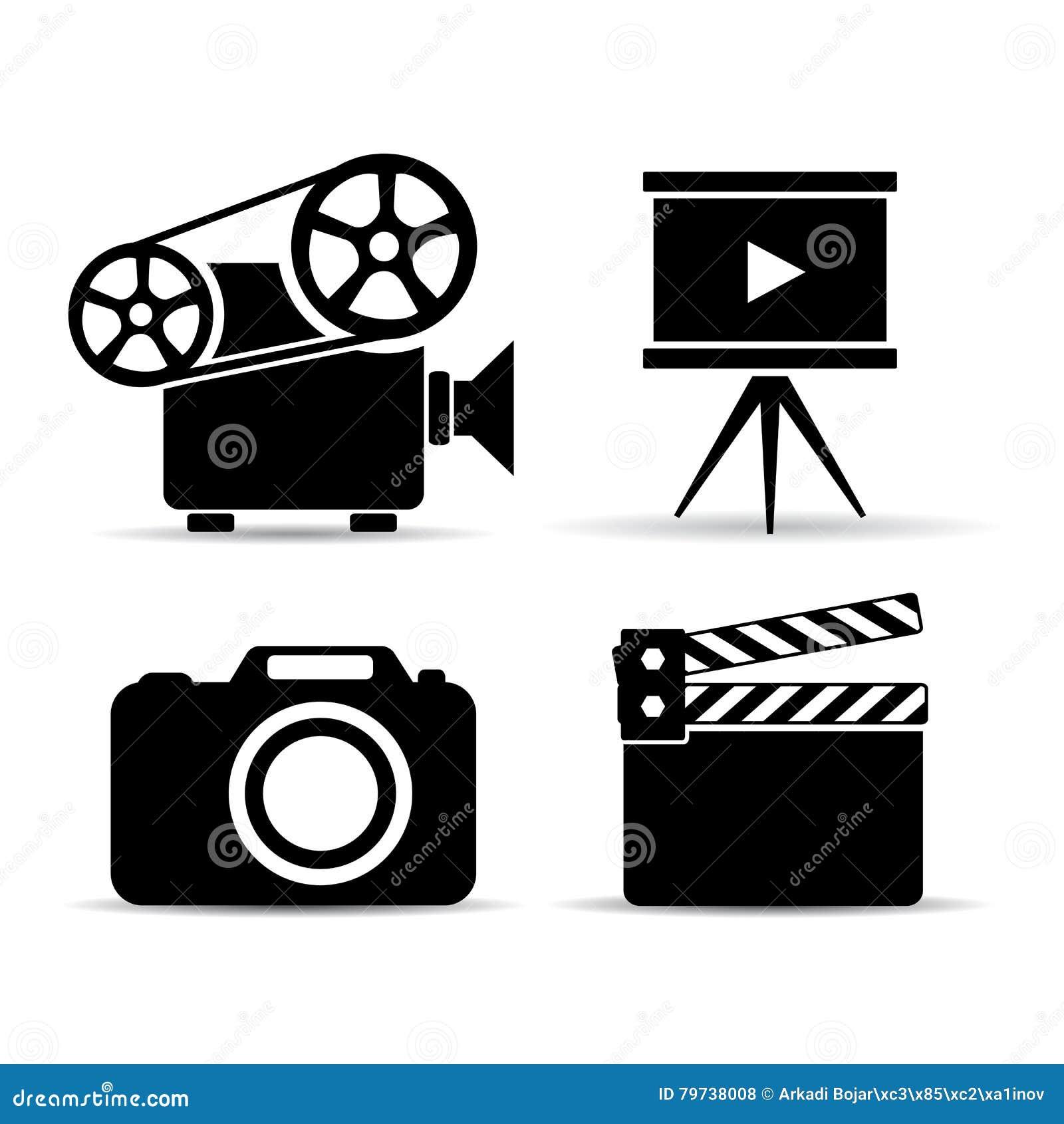 Iconos video del dispositivo