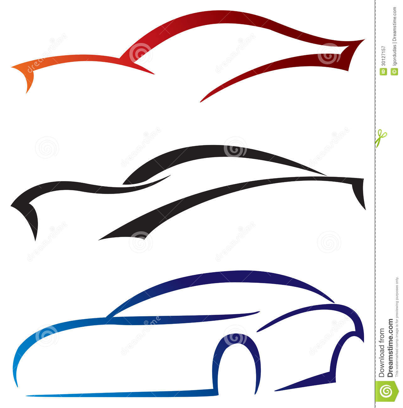 Royalty Free Stock Photography Icons Cars Design Sport Modern Classic Illustration Image30127157 on technology auto parts